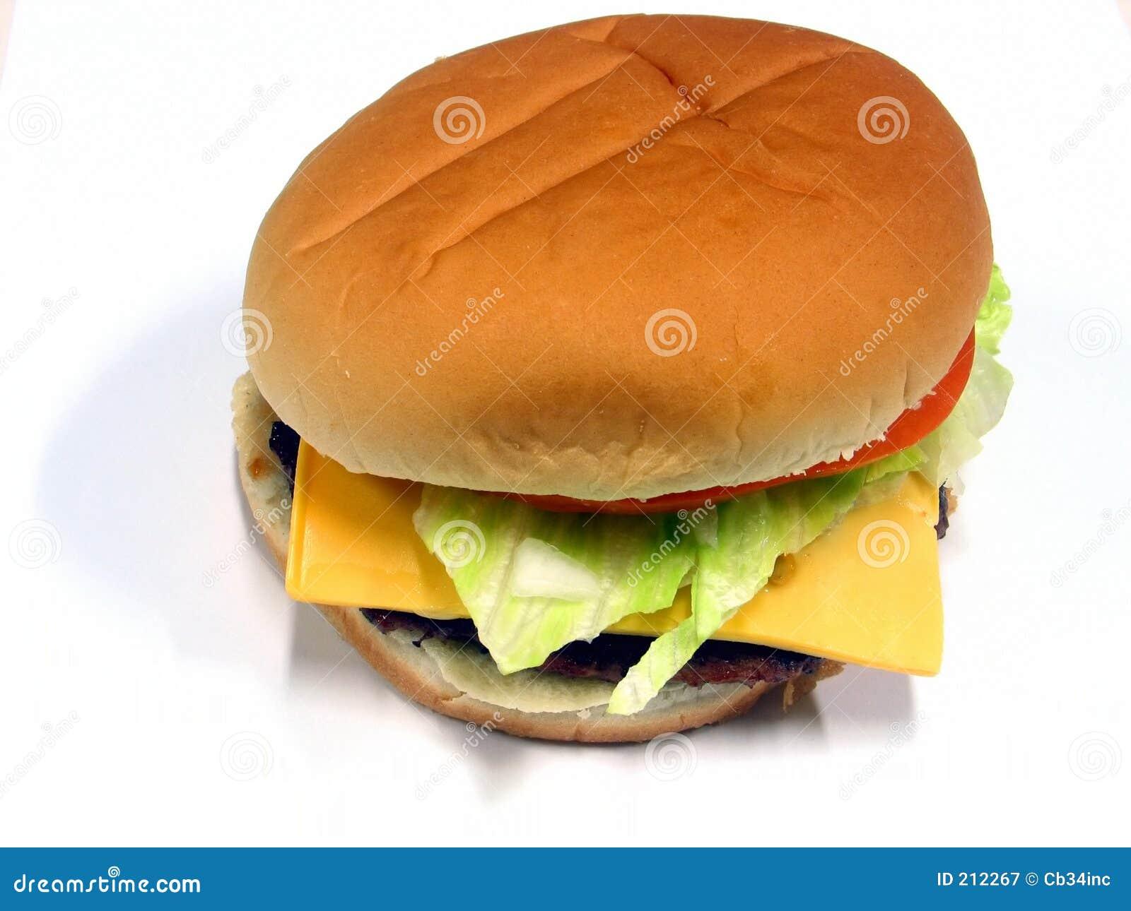 1 hamburgare