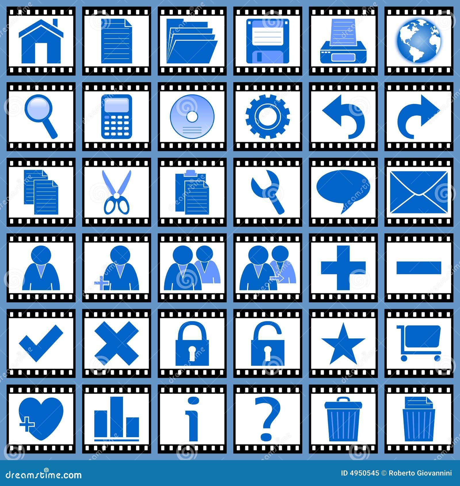 1 ikony filmowej sieci