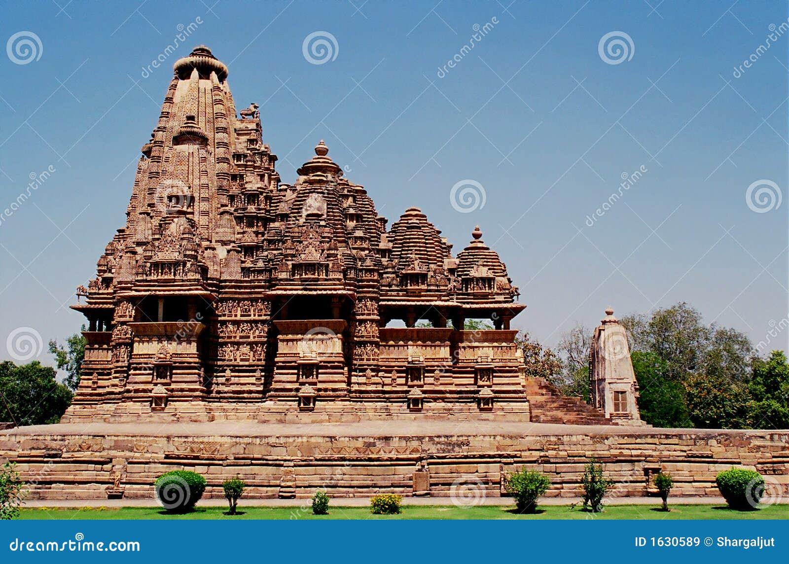 1 khajuraho της Ινδίας