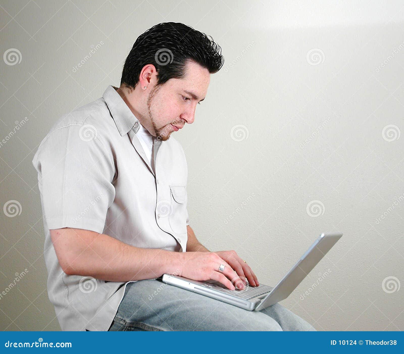 1 komputerowy człowiek