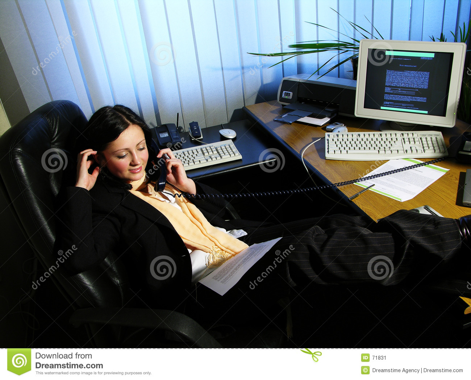 1 kontorssamtal
