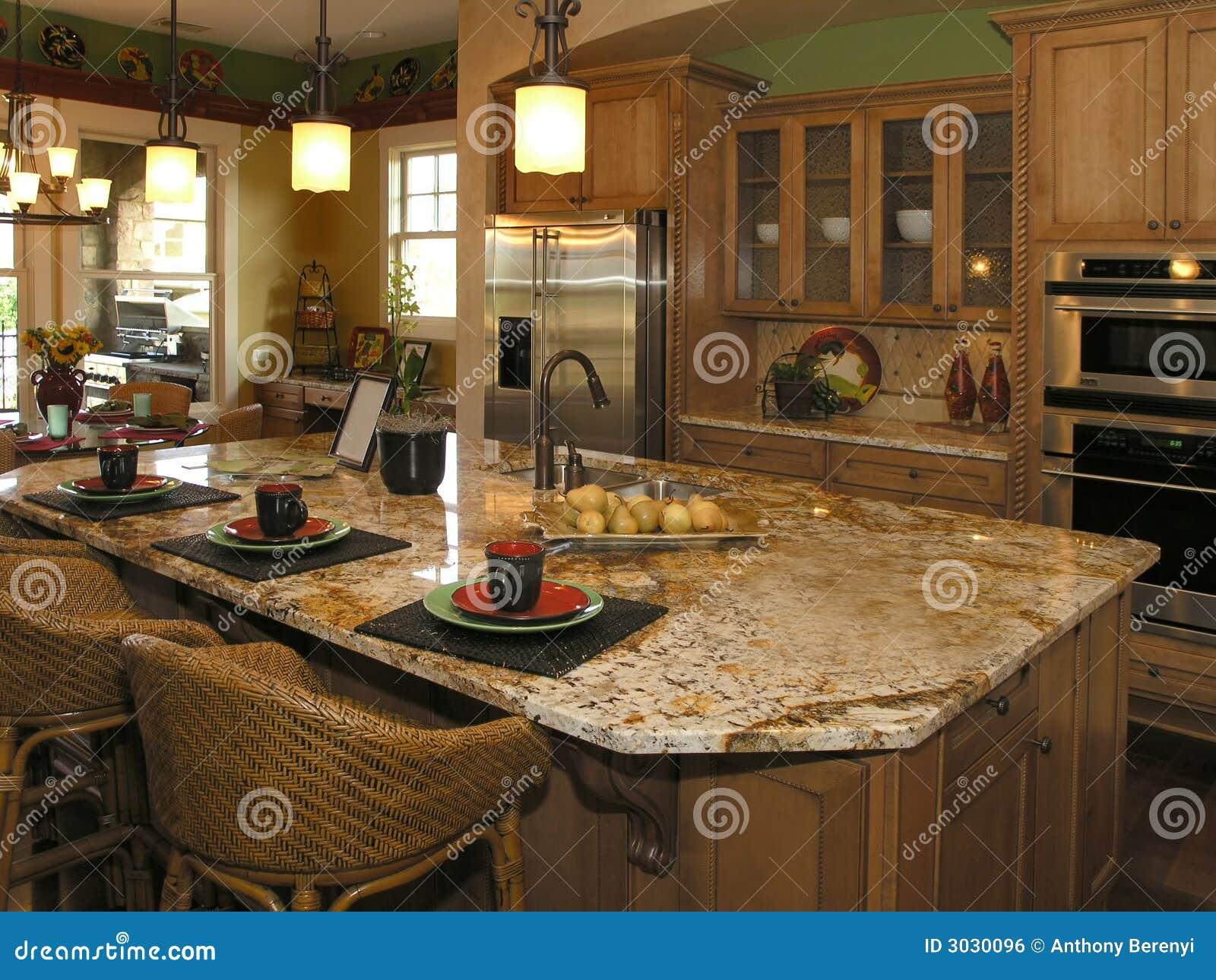 1 lyx för 9 kök royaltyfri bild   bild: 3030096