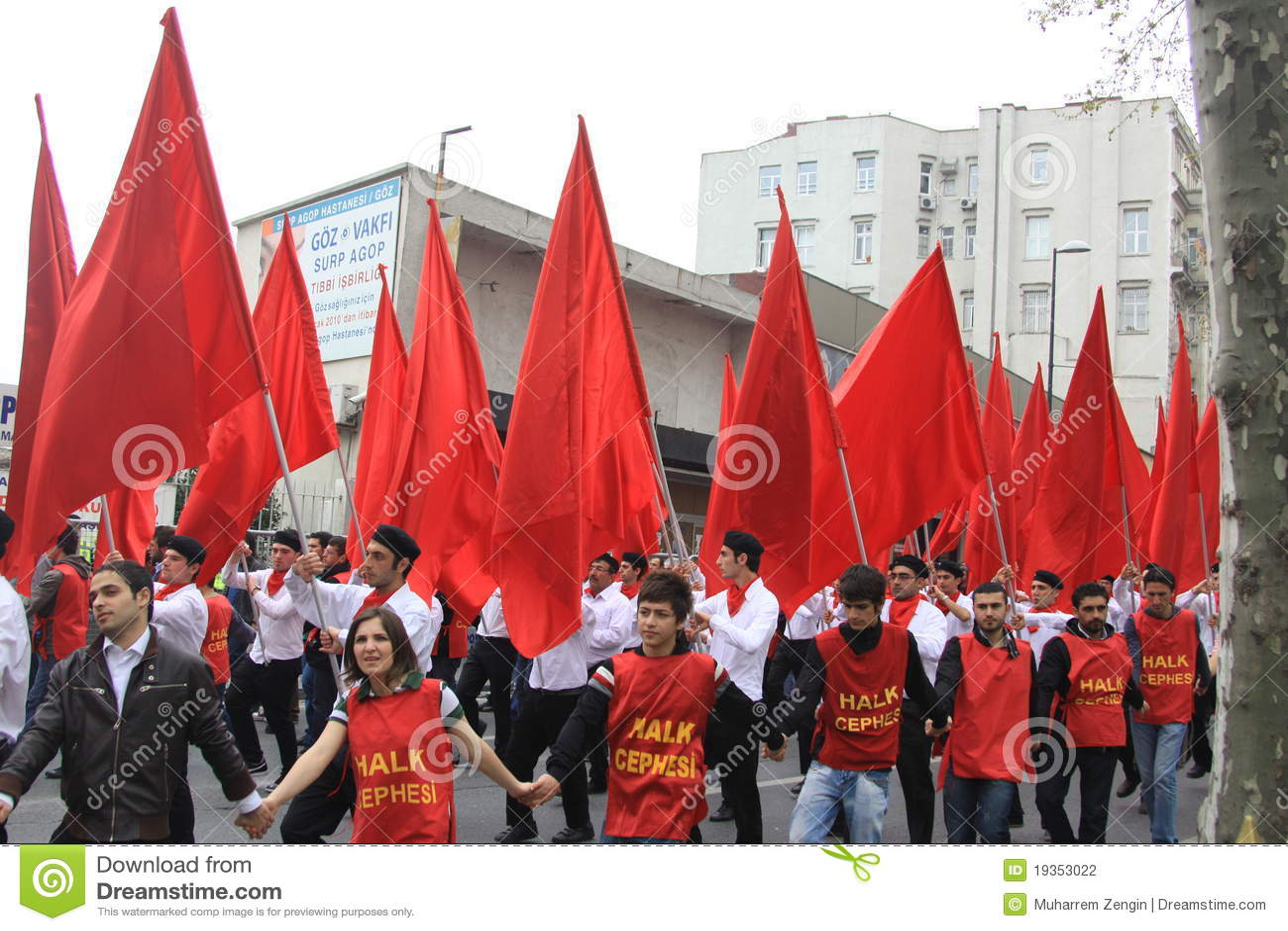 1 maio em Taksim, Istambul