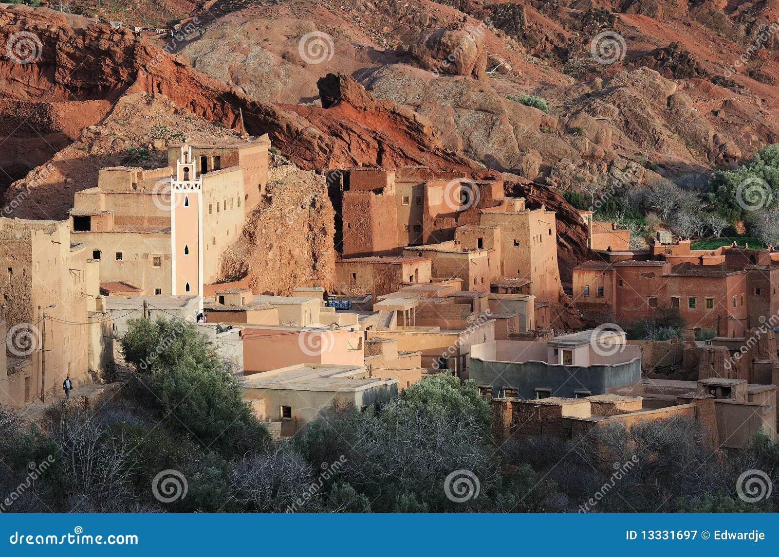 (1) marokańska wioska