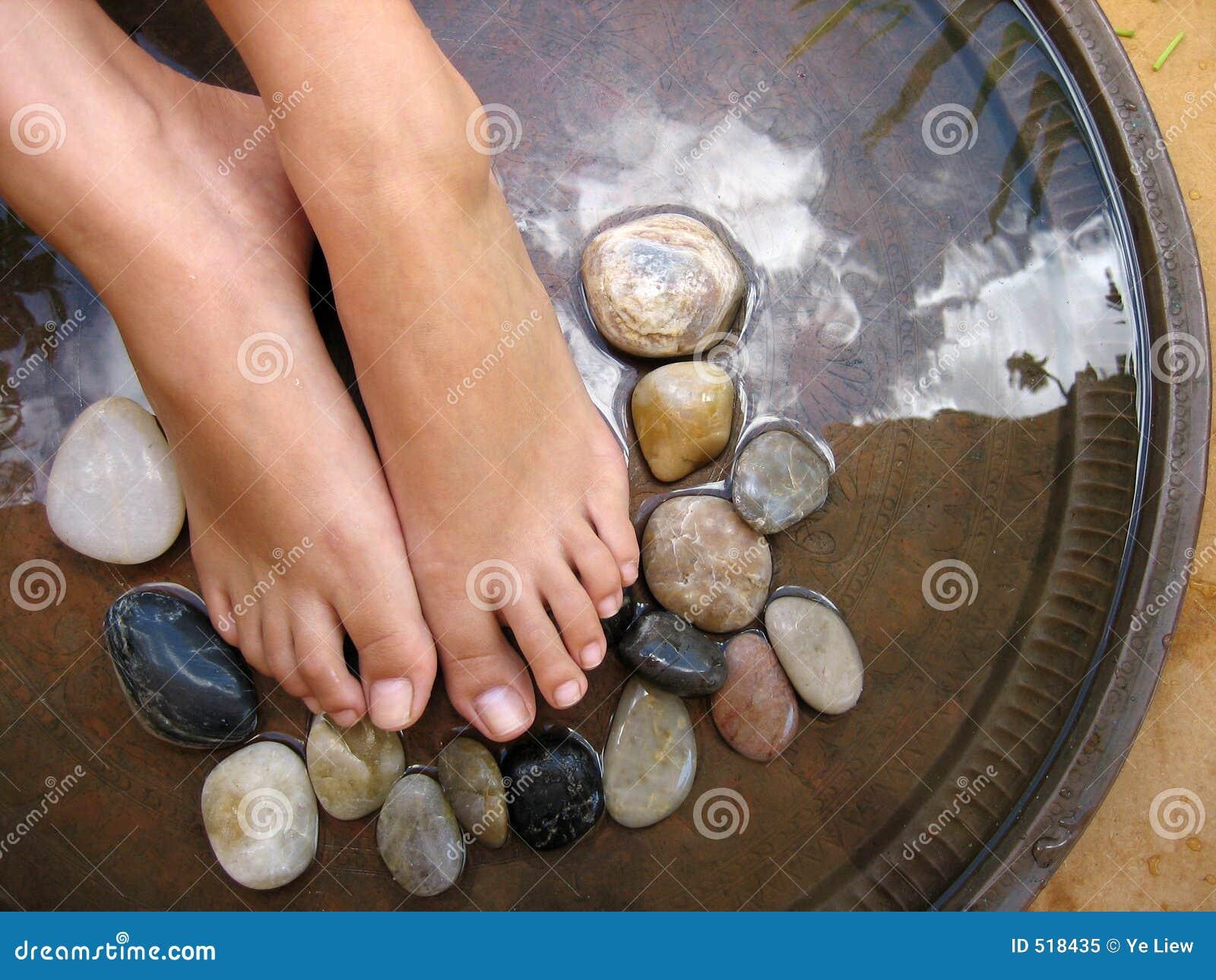 1 masaż stóp