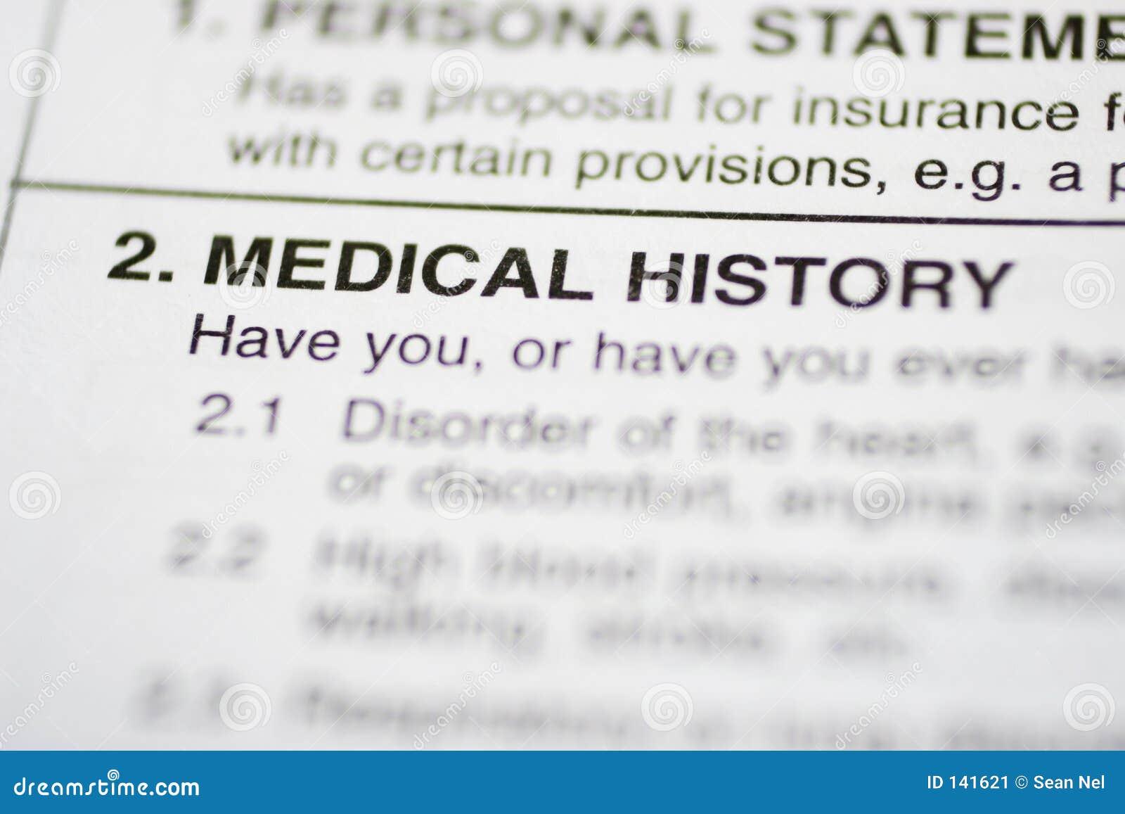 1 medycznej historii papierkowa robota