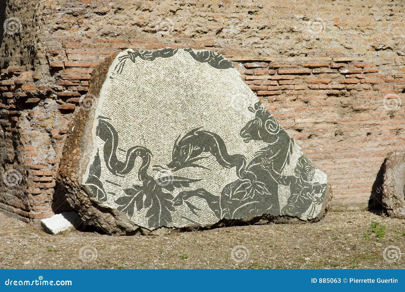 1 mozaika caracalla