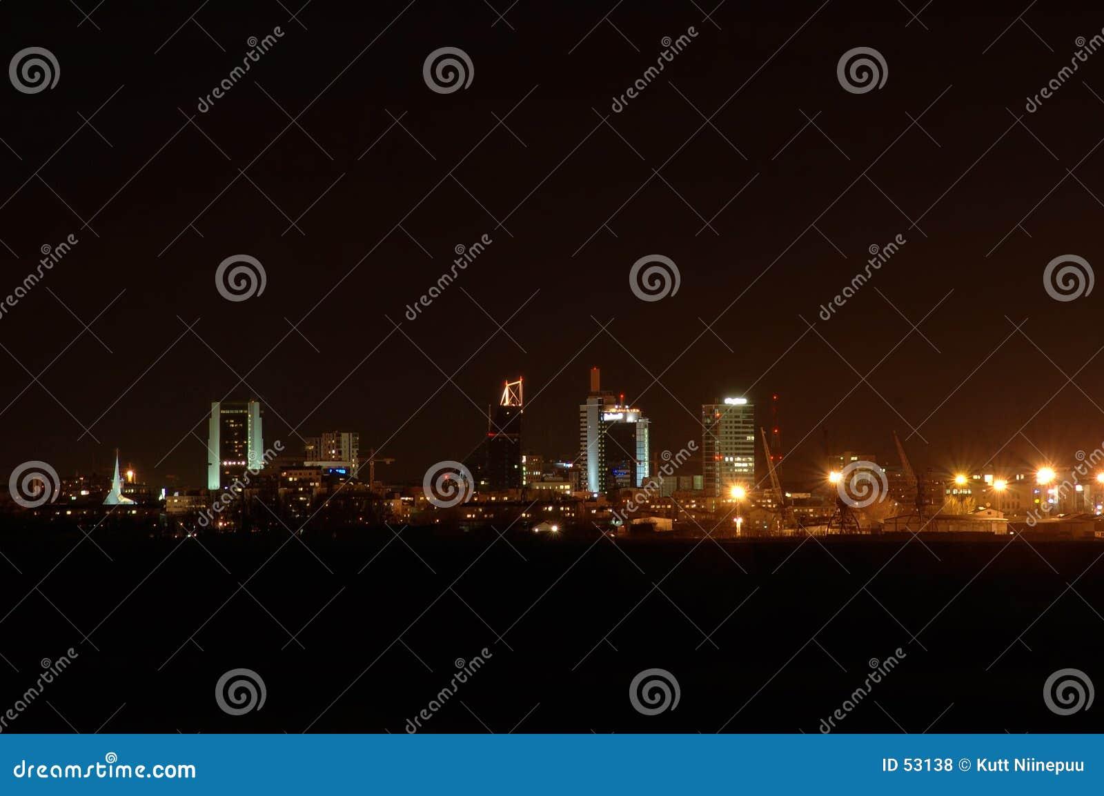 Download 1 night view στοκ εικόνες. εικόνα από προβολείς, φω, πόλη - 53138