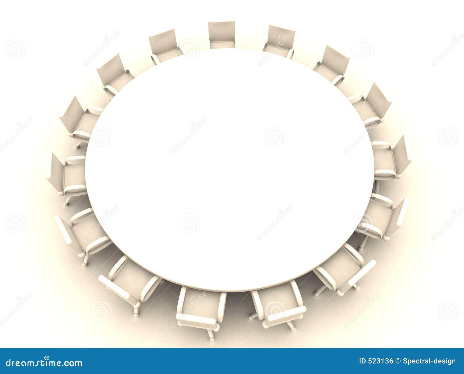 1 okrągłego stołu