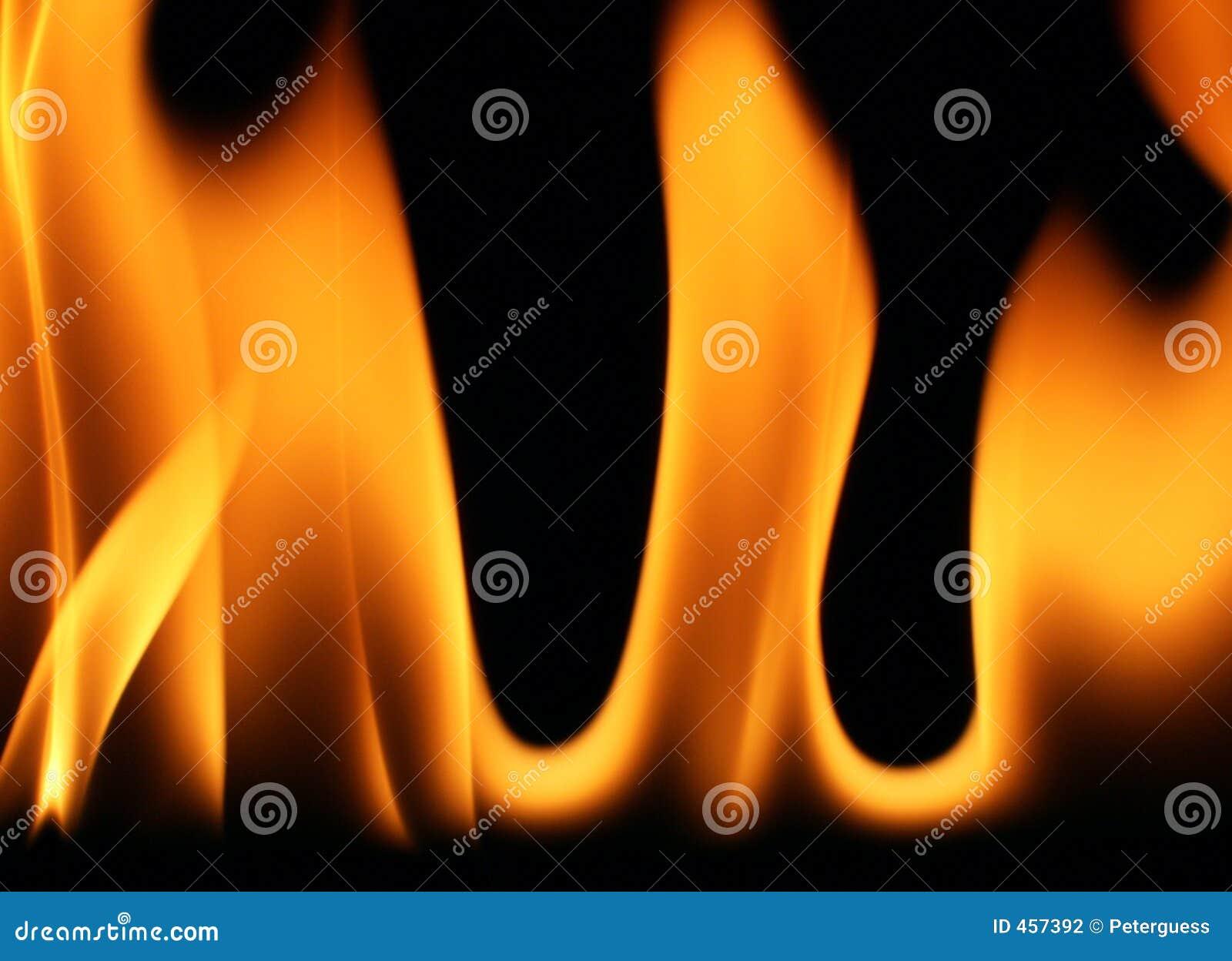 1 płomieni