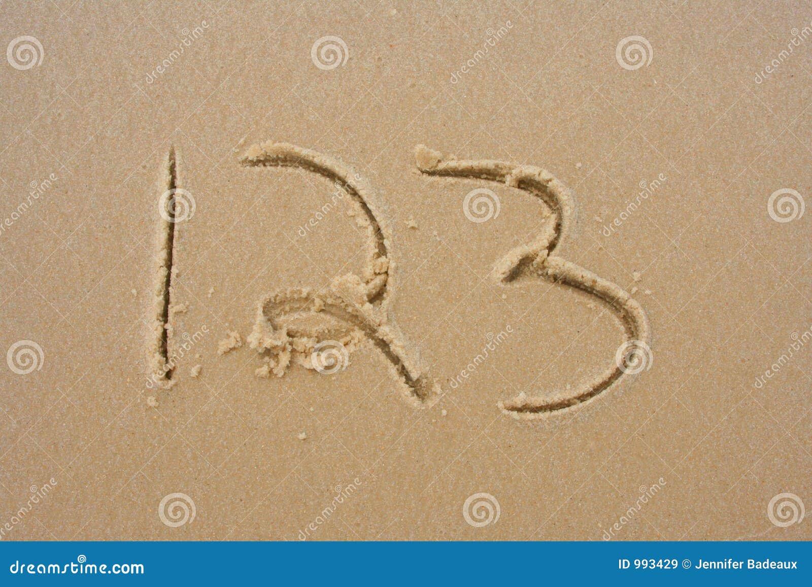 1 sand 2 3