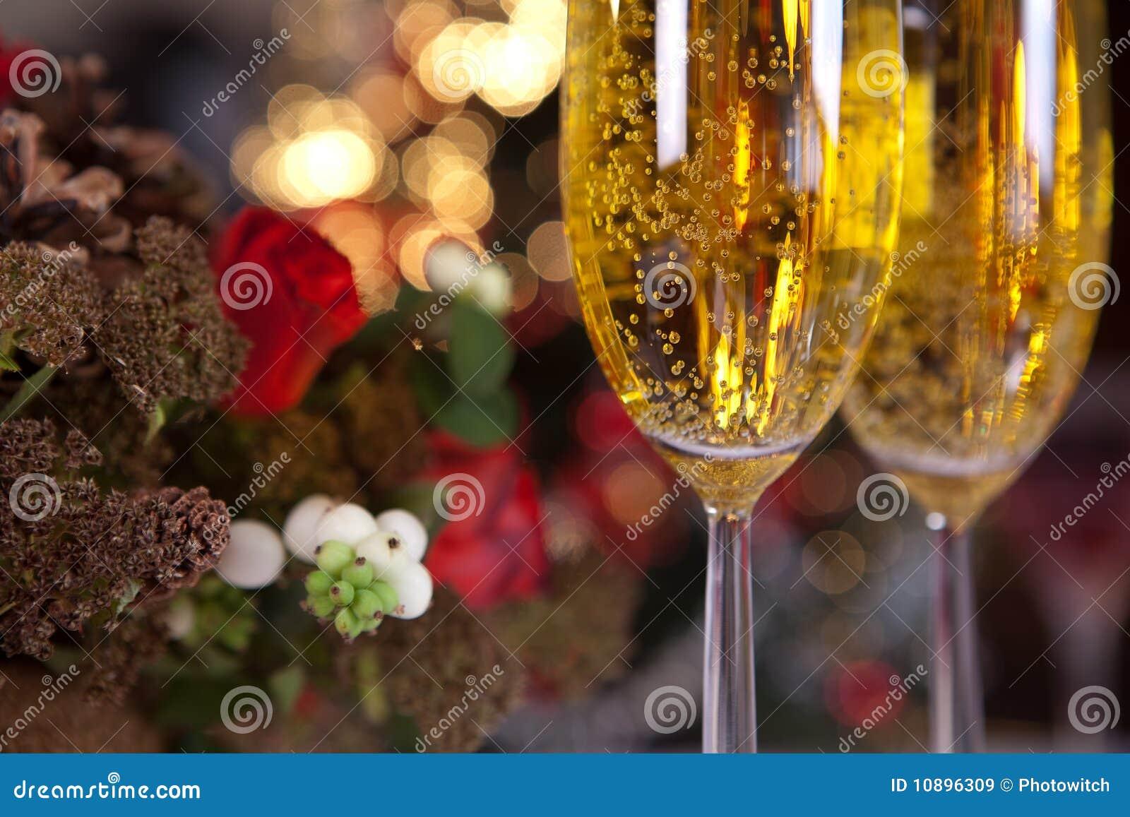 (1) szampańska choinka