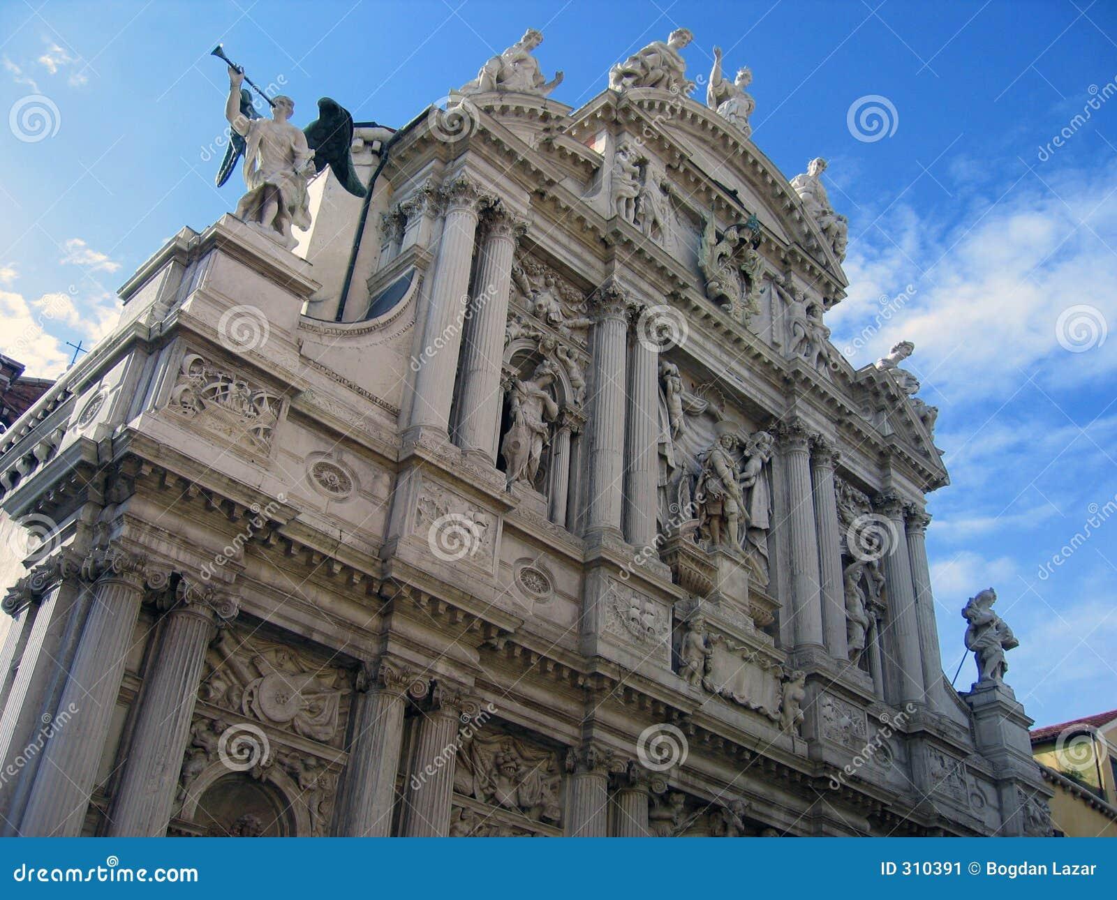 1 szczegół fasadowy venetian Wenecji