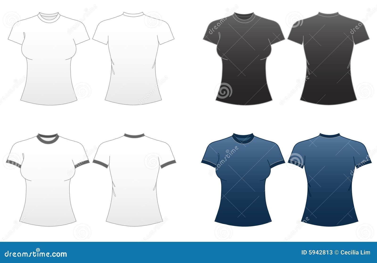 1 t zmieścić serii szablonów koszulowe kobiety