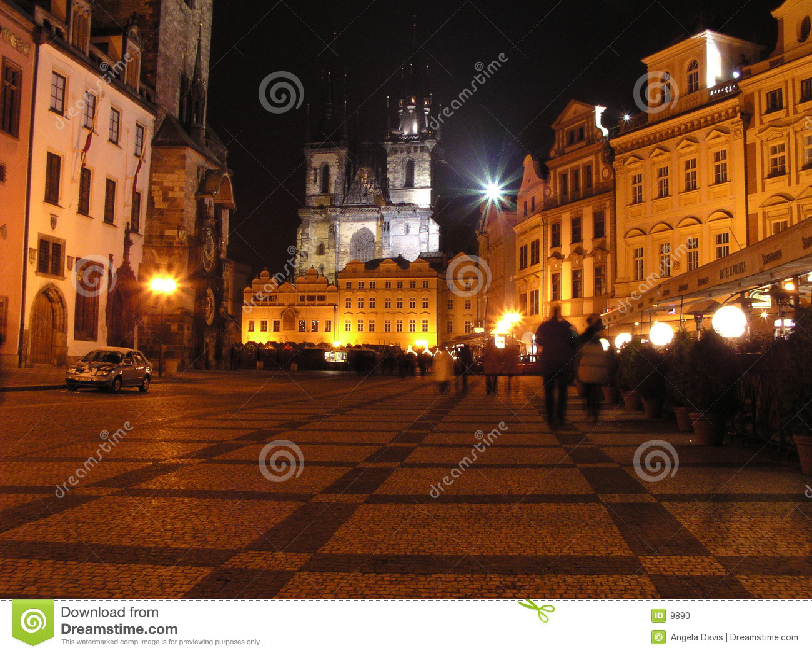 1 tjeckiska prague republik square