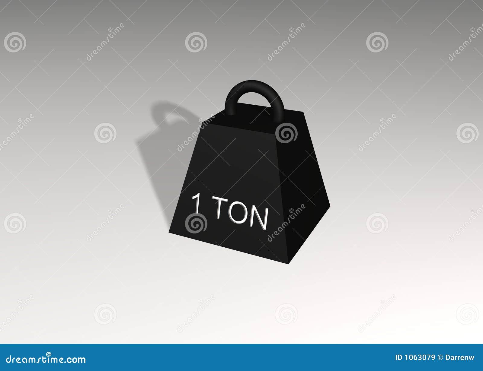 1 tonelada