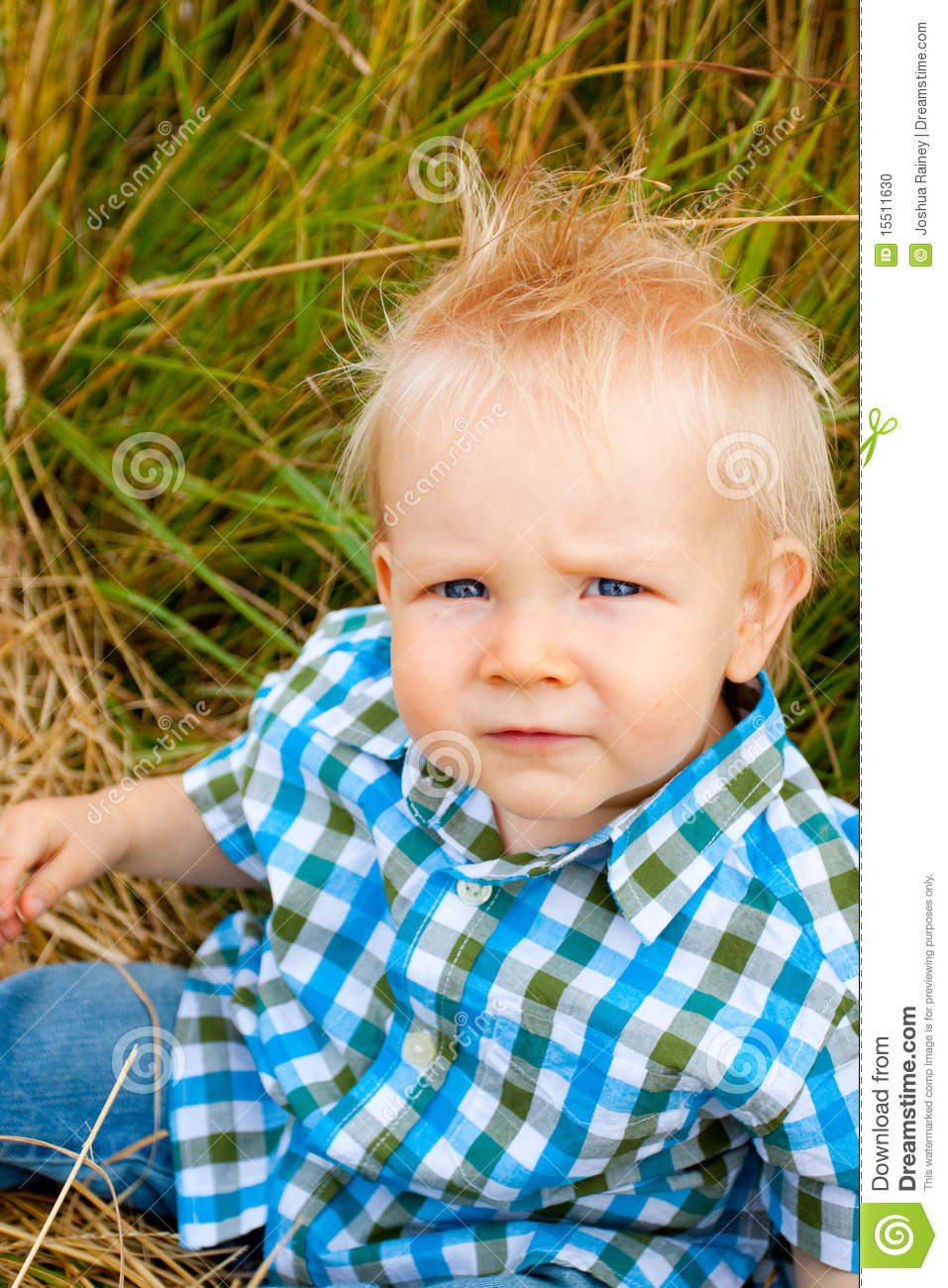 1 Year Old Boy Stock Photo Image 15511630