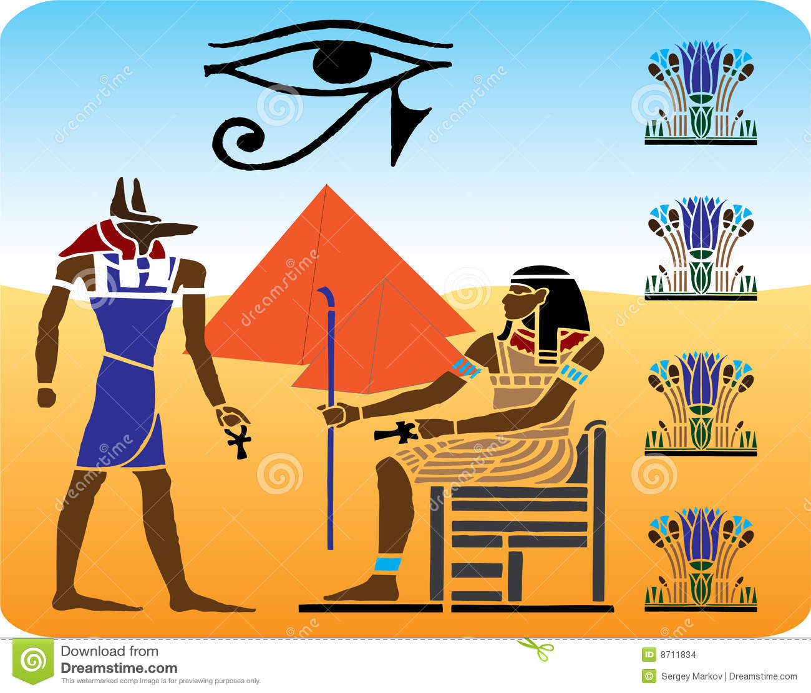 10个埃及象形文字