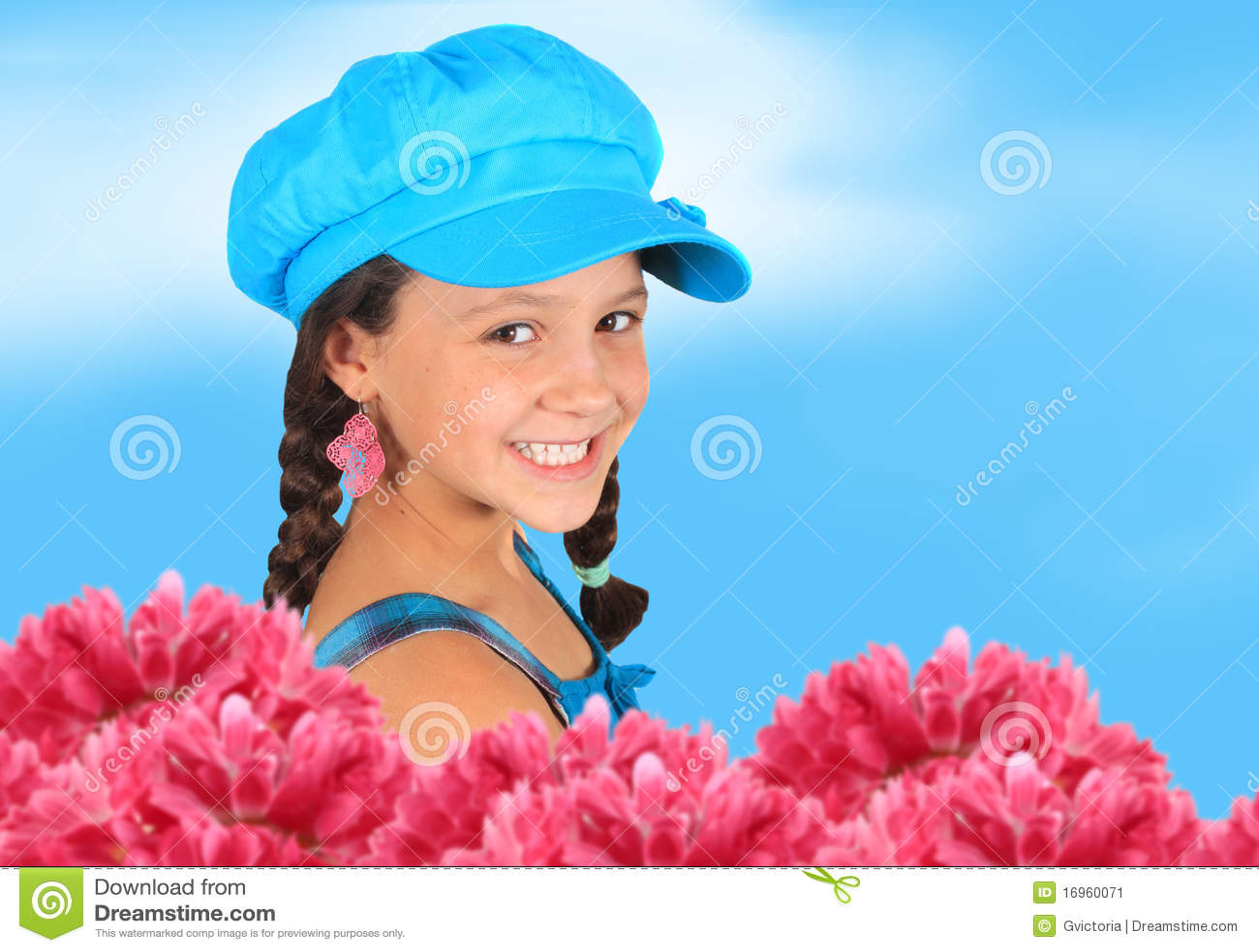 10个女孩老俏丽的春天年