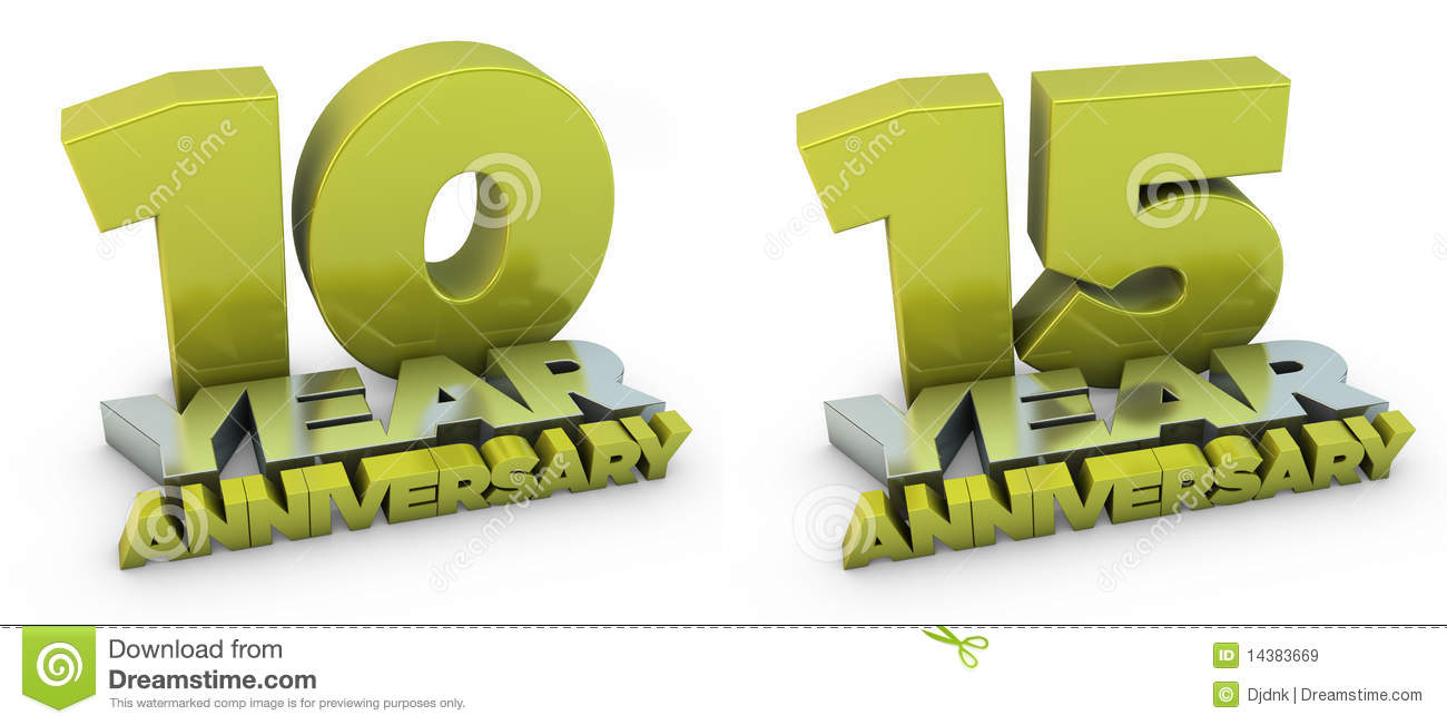 And year anniversary stock illustration illustration of