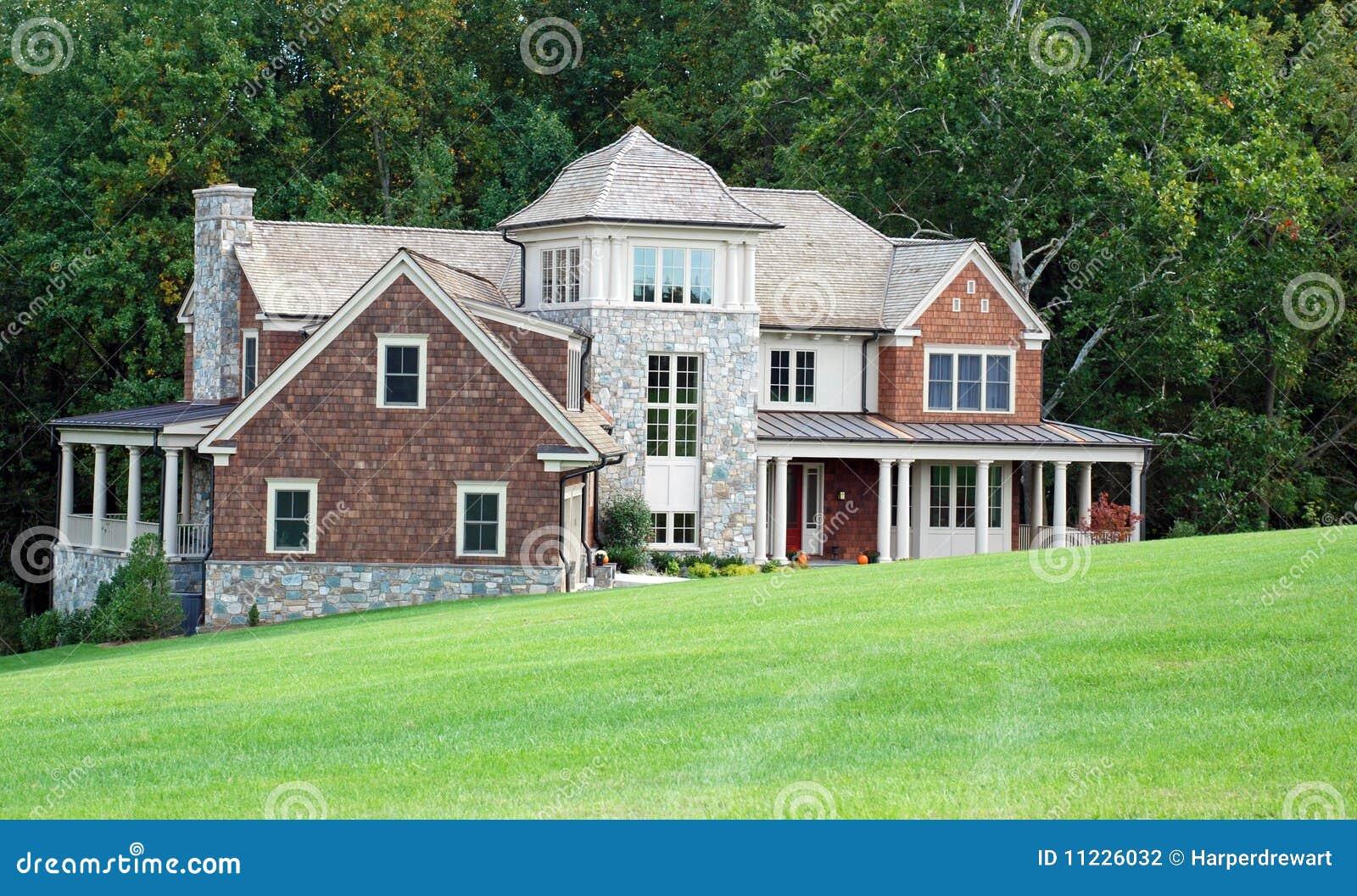 10 domów luksus