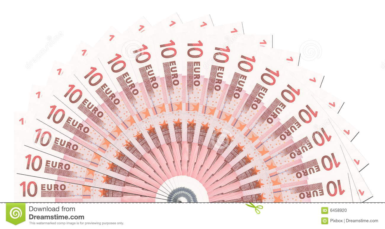 10 euro notes half circle template stock photo image of business