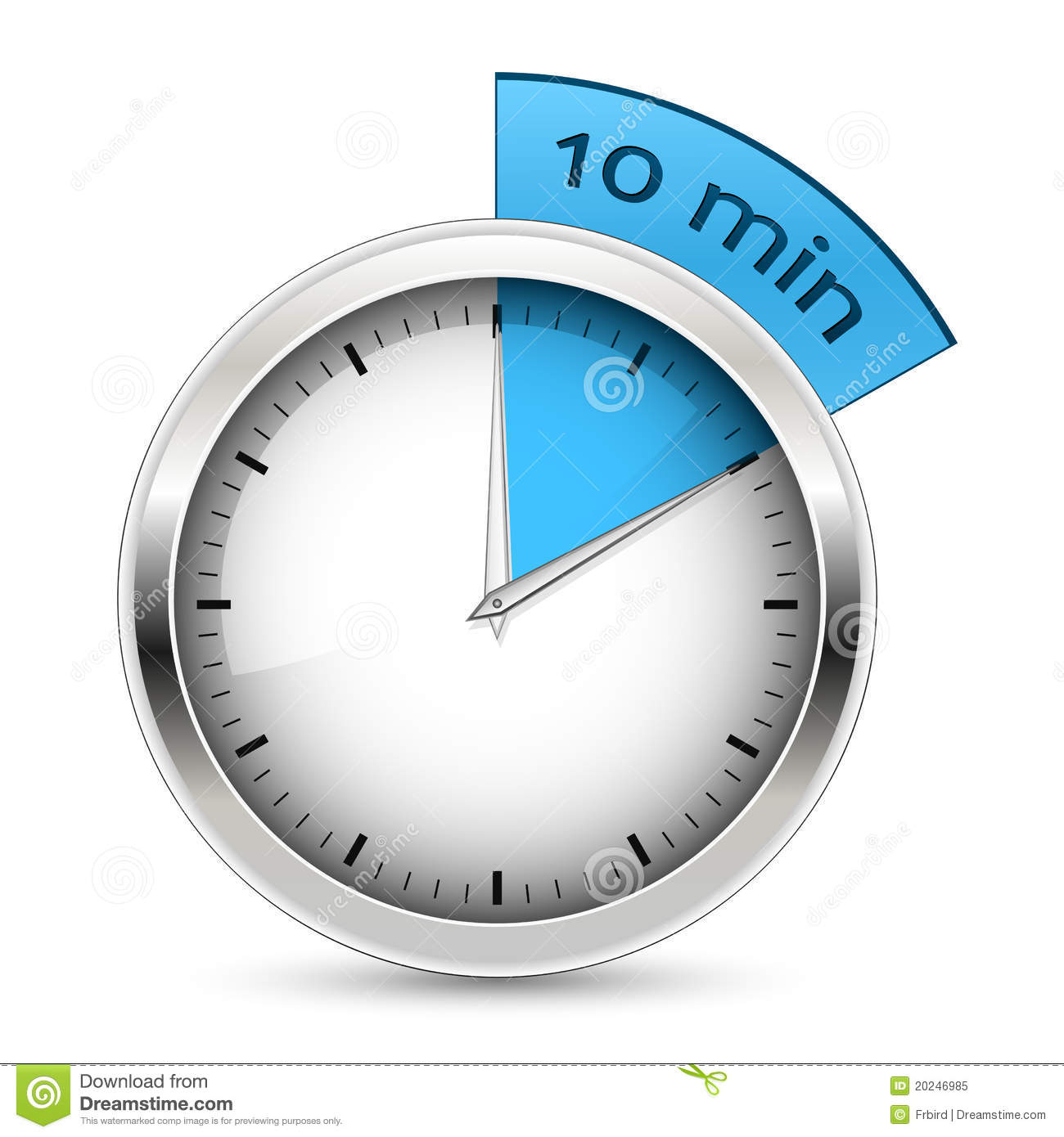 10 minutes timer illustration stock vector illustration of arrow