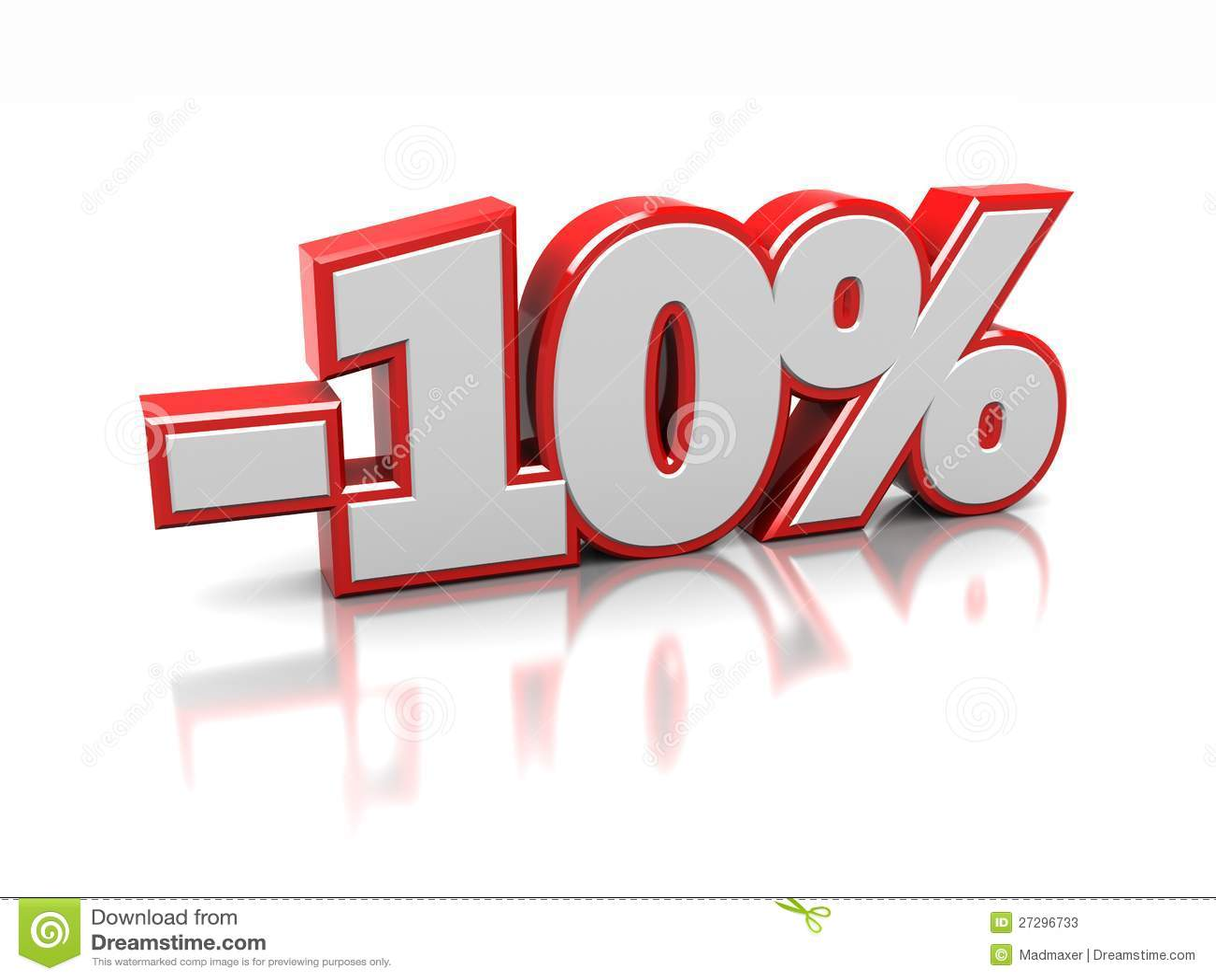 10 pour cent photos stock image 27296733. Black Bedroom Furniture Sets. Home Design Ideas