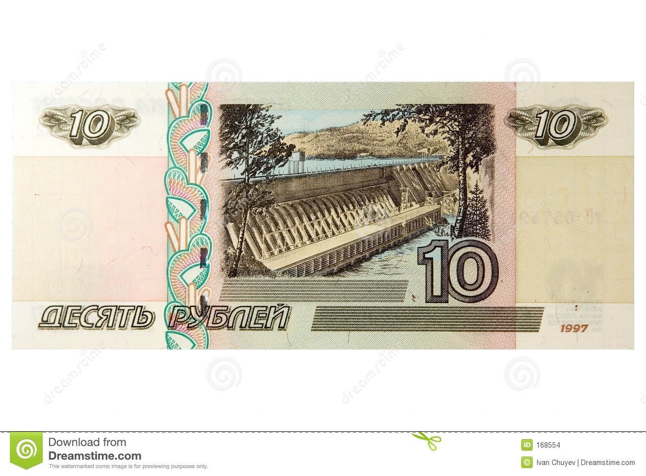 10 russian roubles