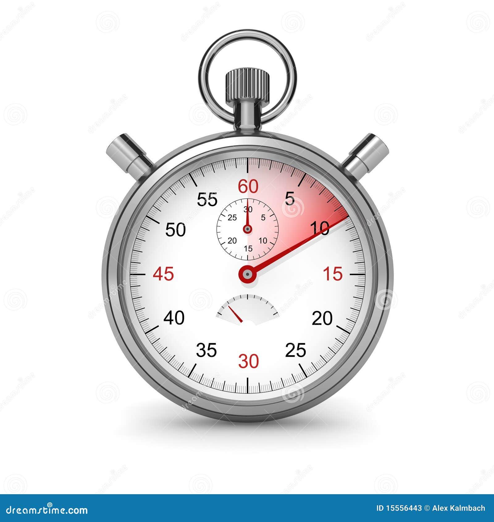 10 Seconds Stopwatch Stock Photos Image 15556443