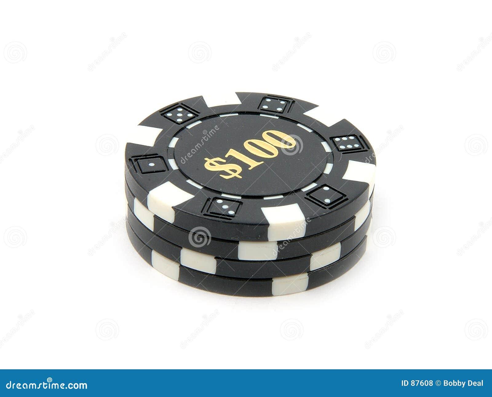 100 τσιπ χαρτοπαικτικών λε&sigma