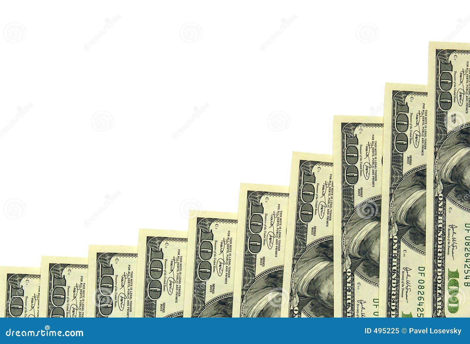 100 долларов диаграммы
