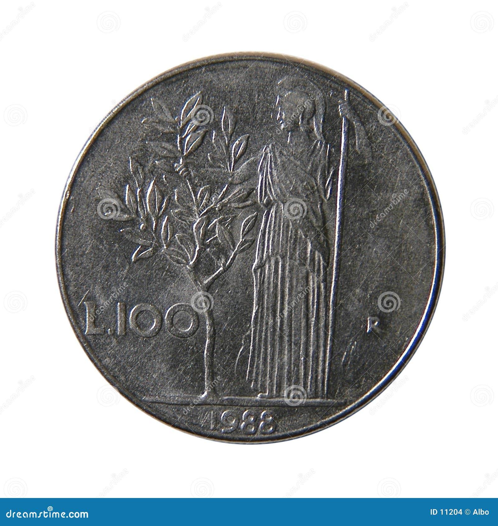 100 итальянских лир