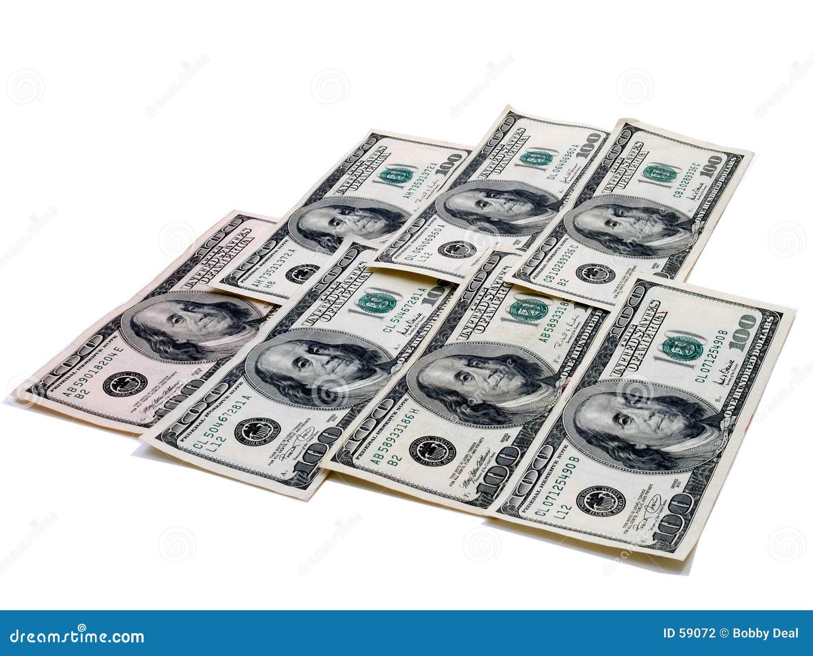 $100.00 rekeningen