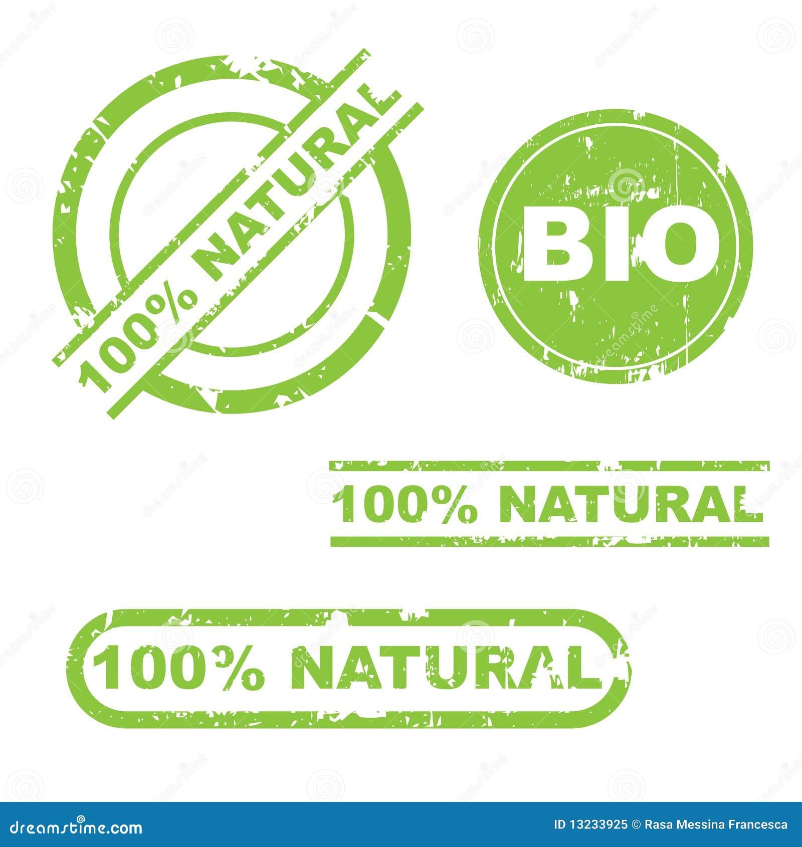 100  de natuurlijke reeks van de grungezegel