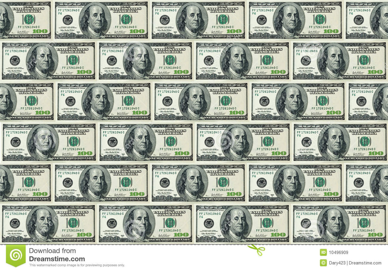100 Dollar Bills Background Royalty Free Stock Images - Image ...