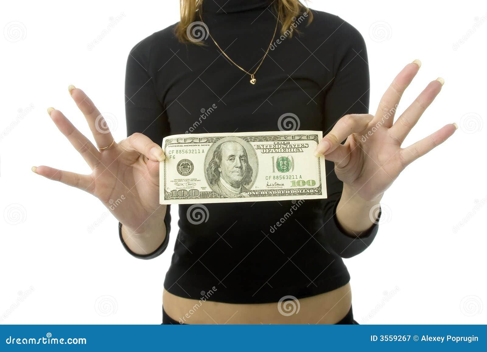 100 dollari di banconota