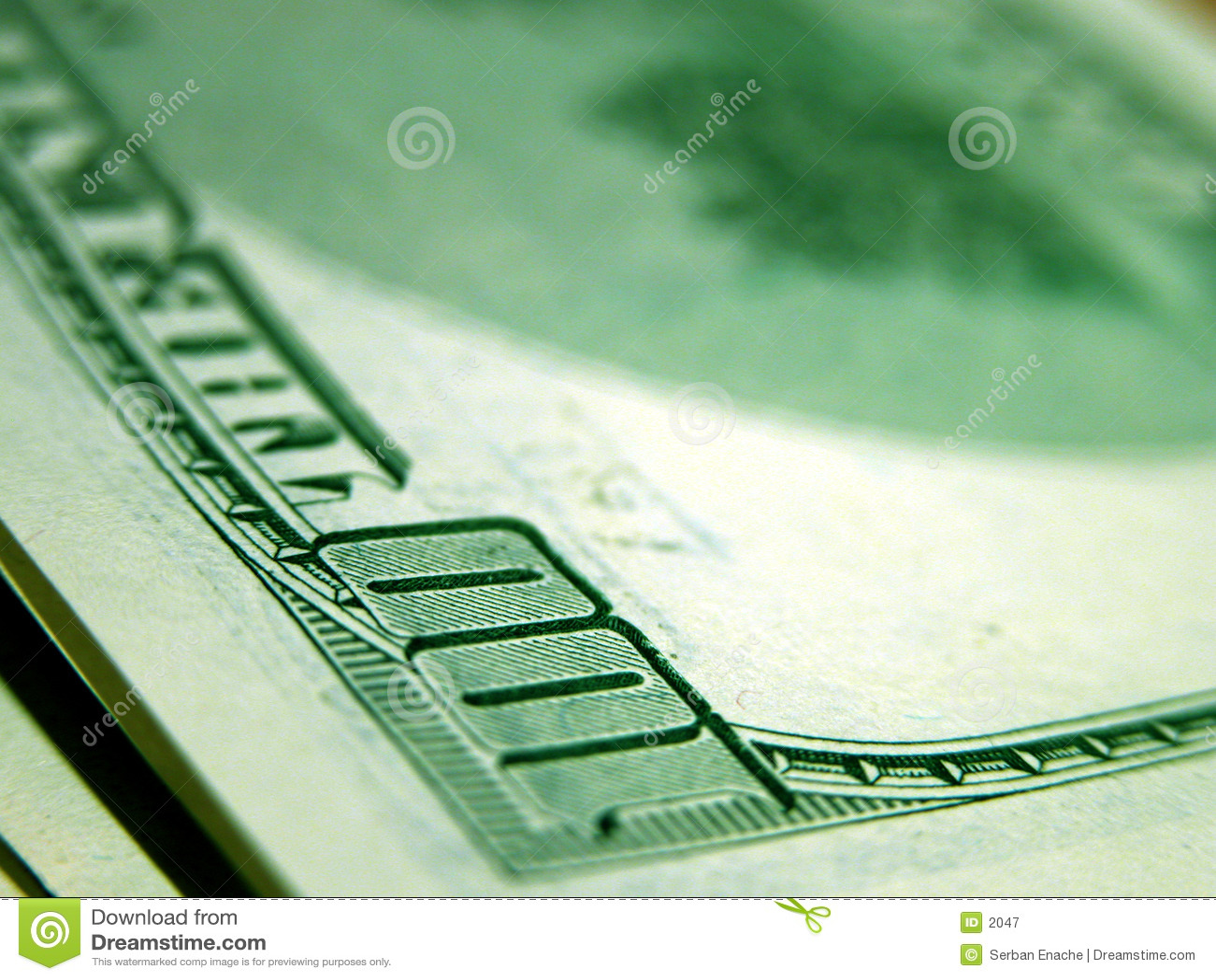 100 dollars bill