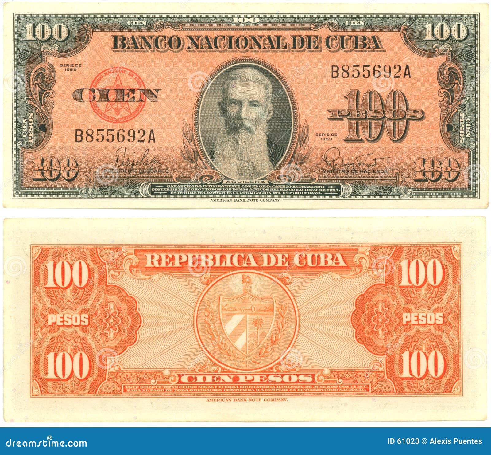 100 pesi cubani