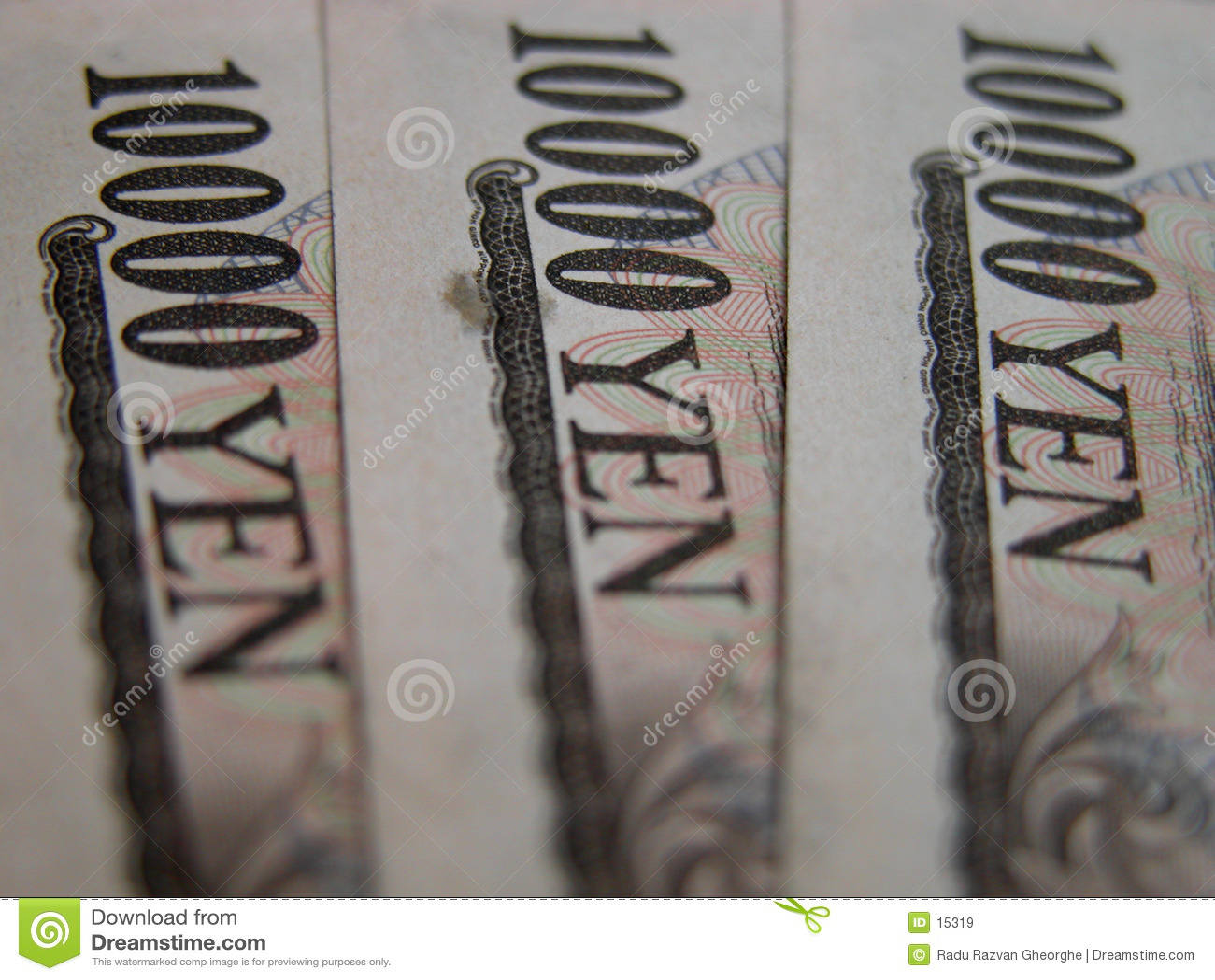10000 иен счетов