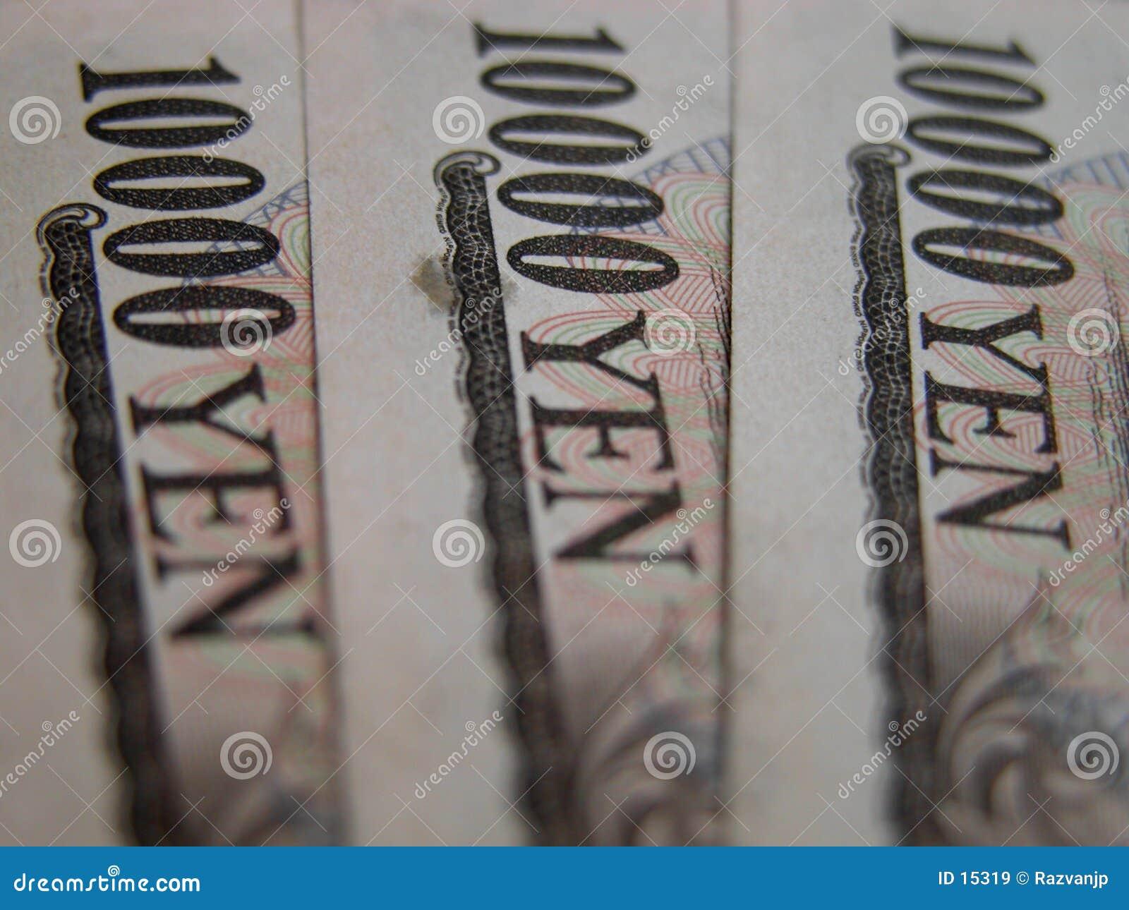 10000 Yenrekeningen