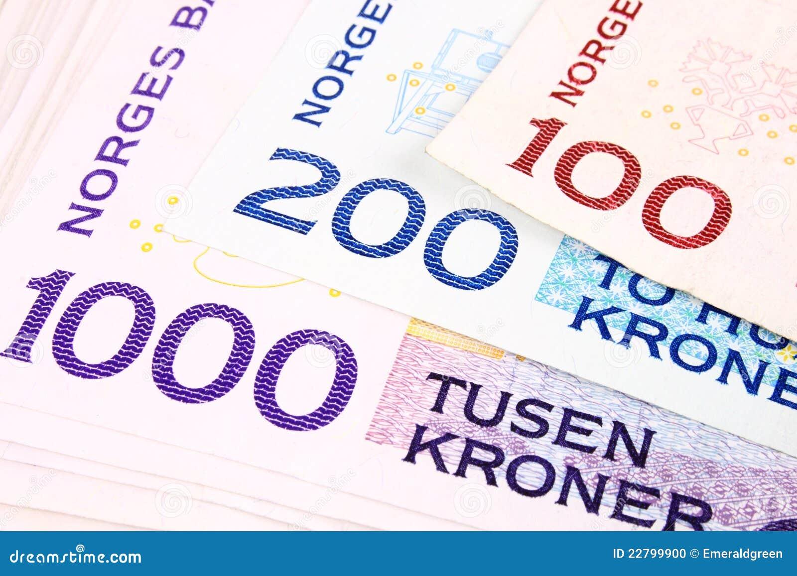 1000b waluta norweg
