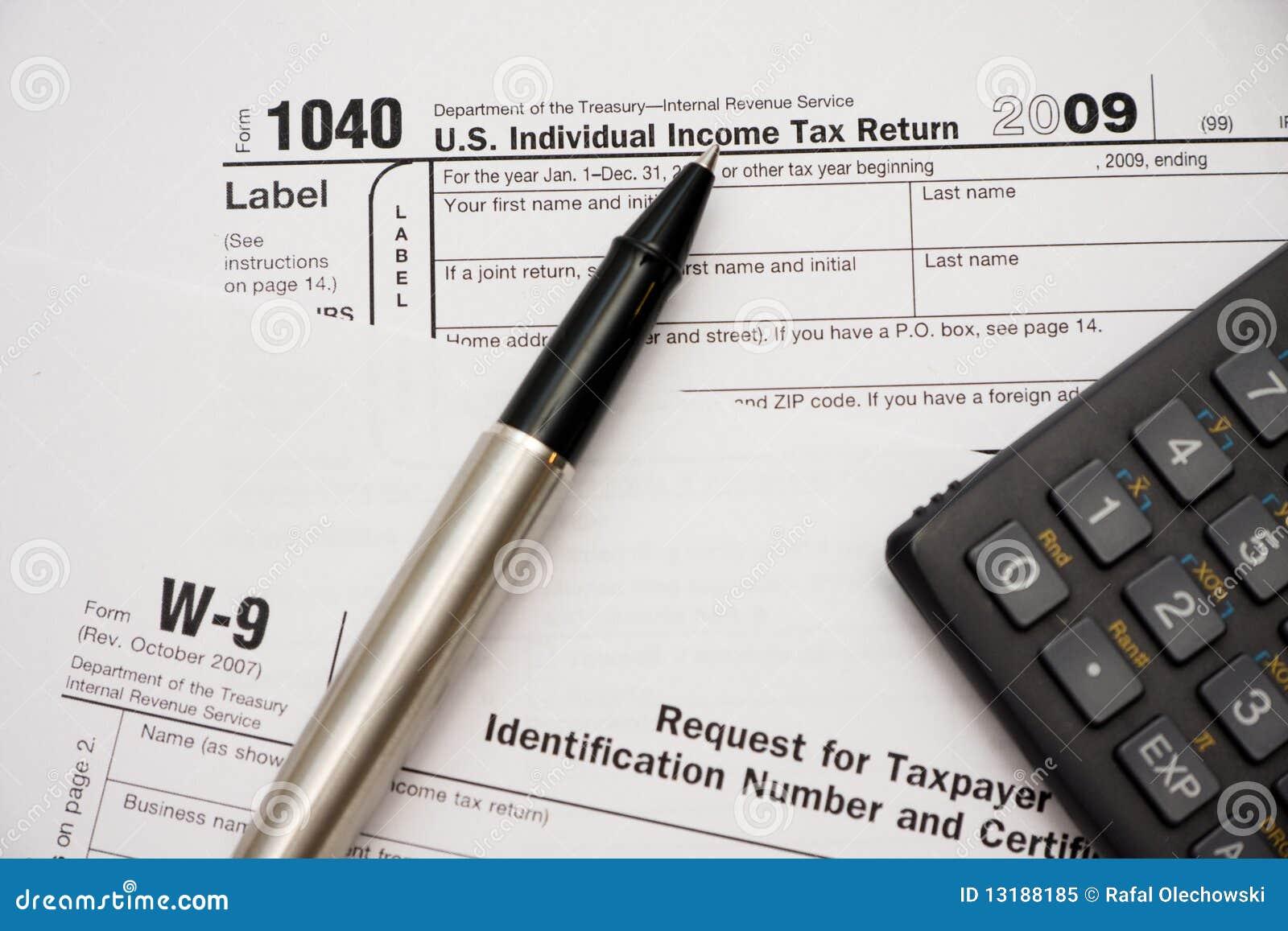 1040 γεμίζοντας φόρος μορφών
