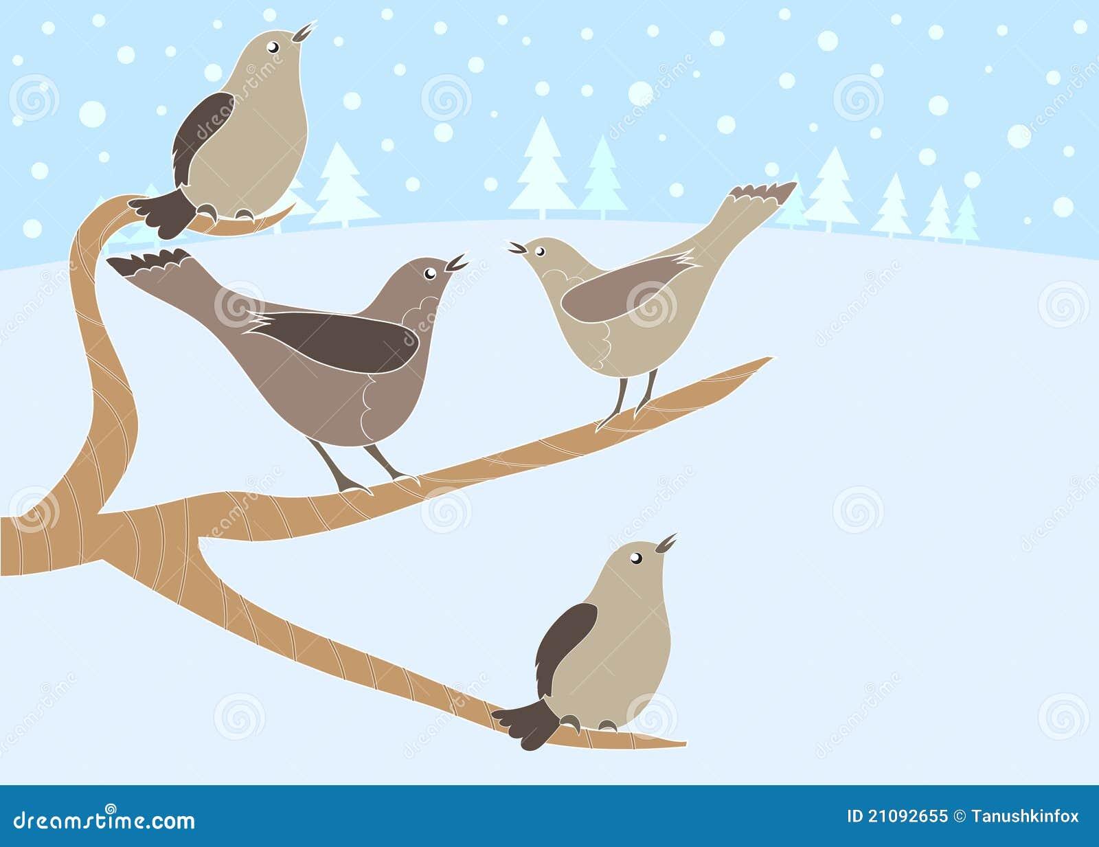 12 dagen van Kerstmis: 4 het roepen van Vogels
