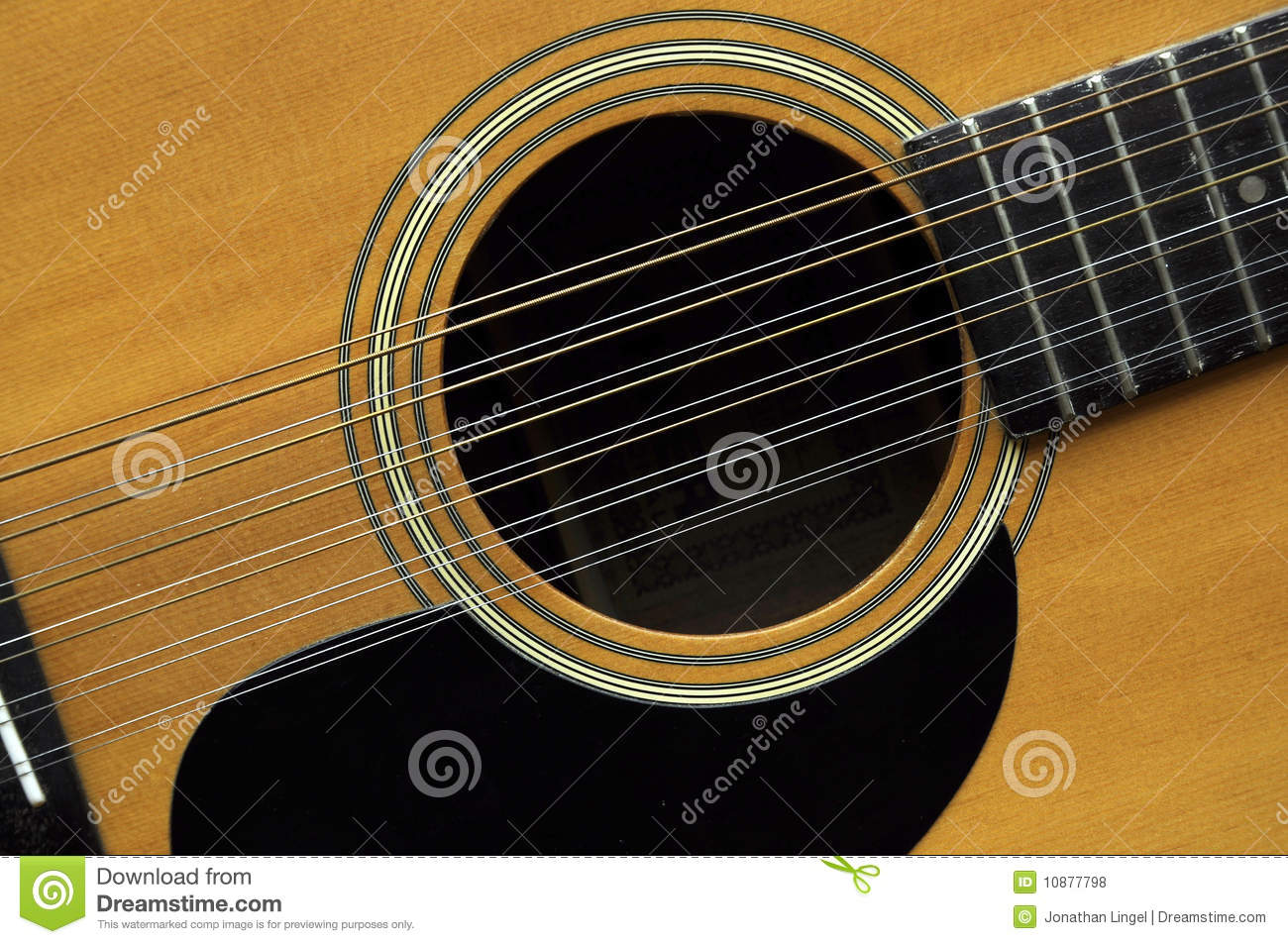 12-string Guitar Royalty Free Stock Photos - Image: 10877798