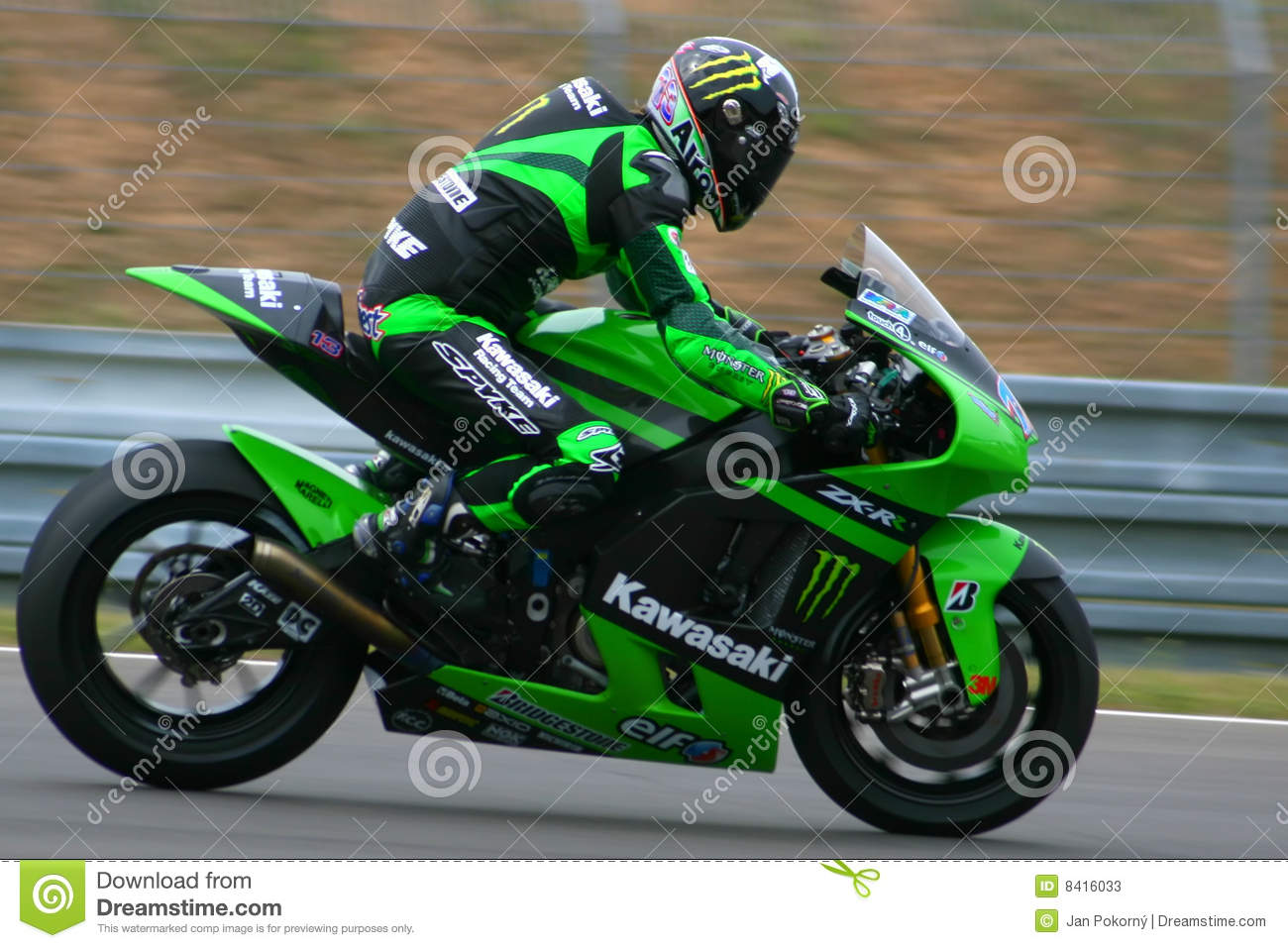 13 Anthony West - Kawasaki Racing Team Editorial Stock Photo - Image: 8416033