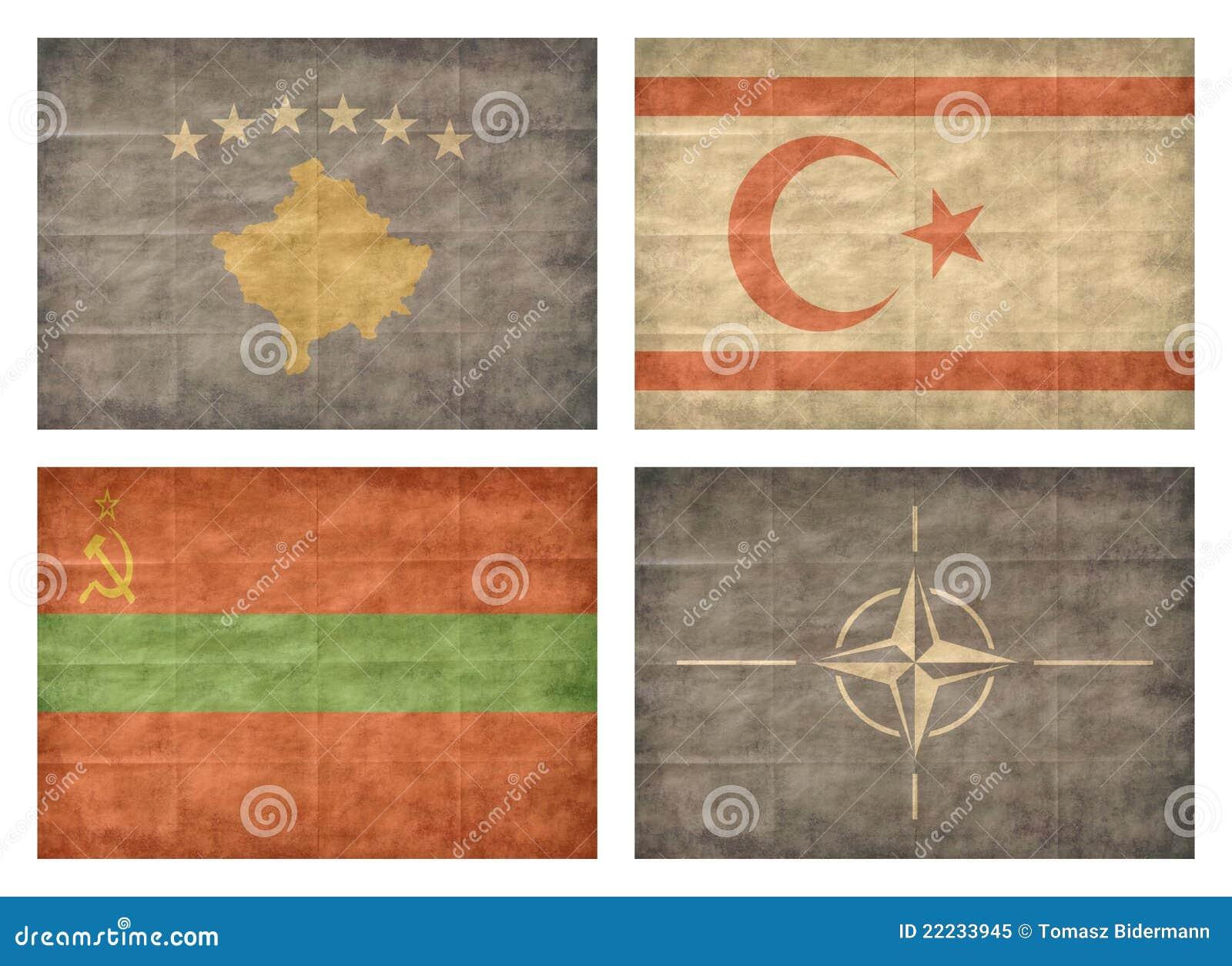13 krajów europejczyka flaga