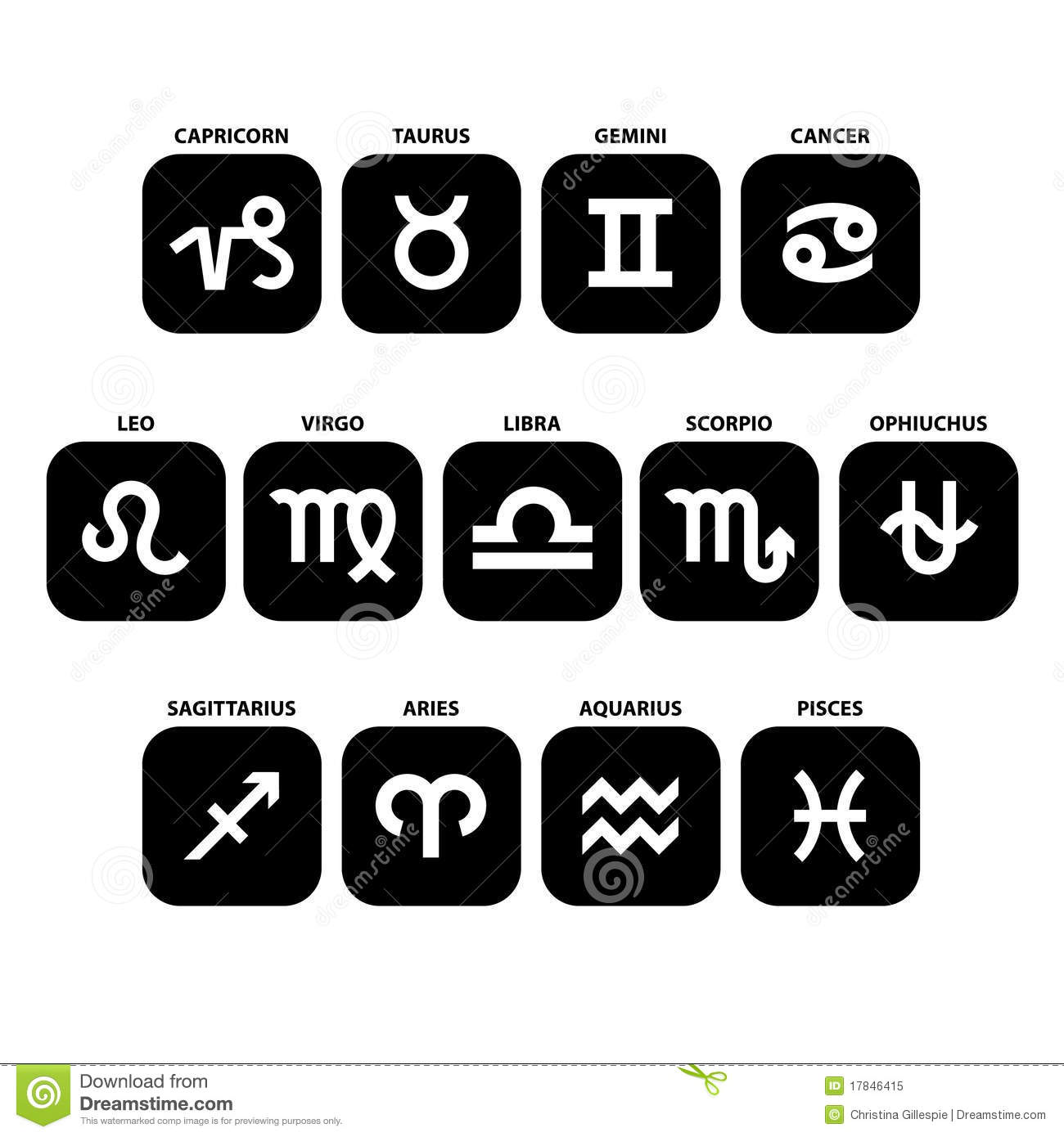 13 signs of the zodiac set new ophiuchus included stock vector 13 signs of the zodiac set new ophiuchus included nvjuhfo Gallery