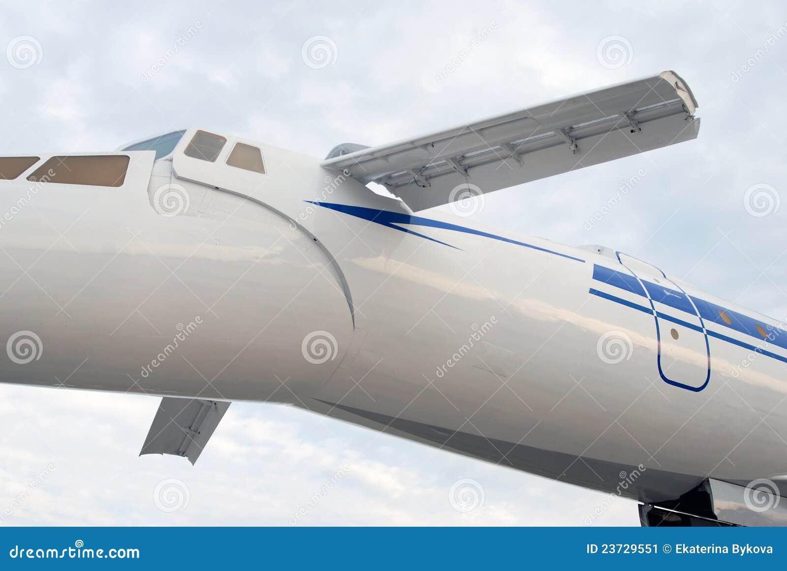 144 samolotu rosyjski naddźwiękowy tu tupolev