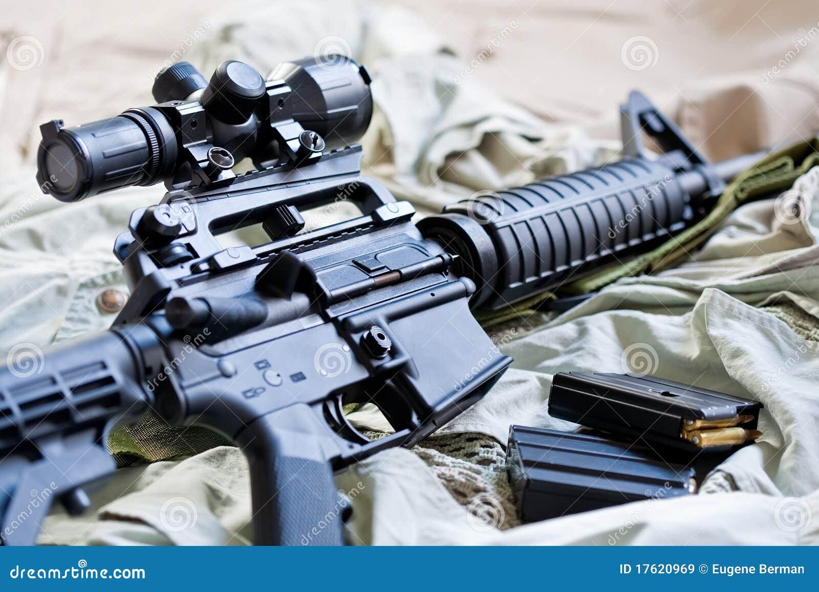 15个ar杂志步枪